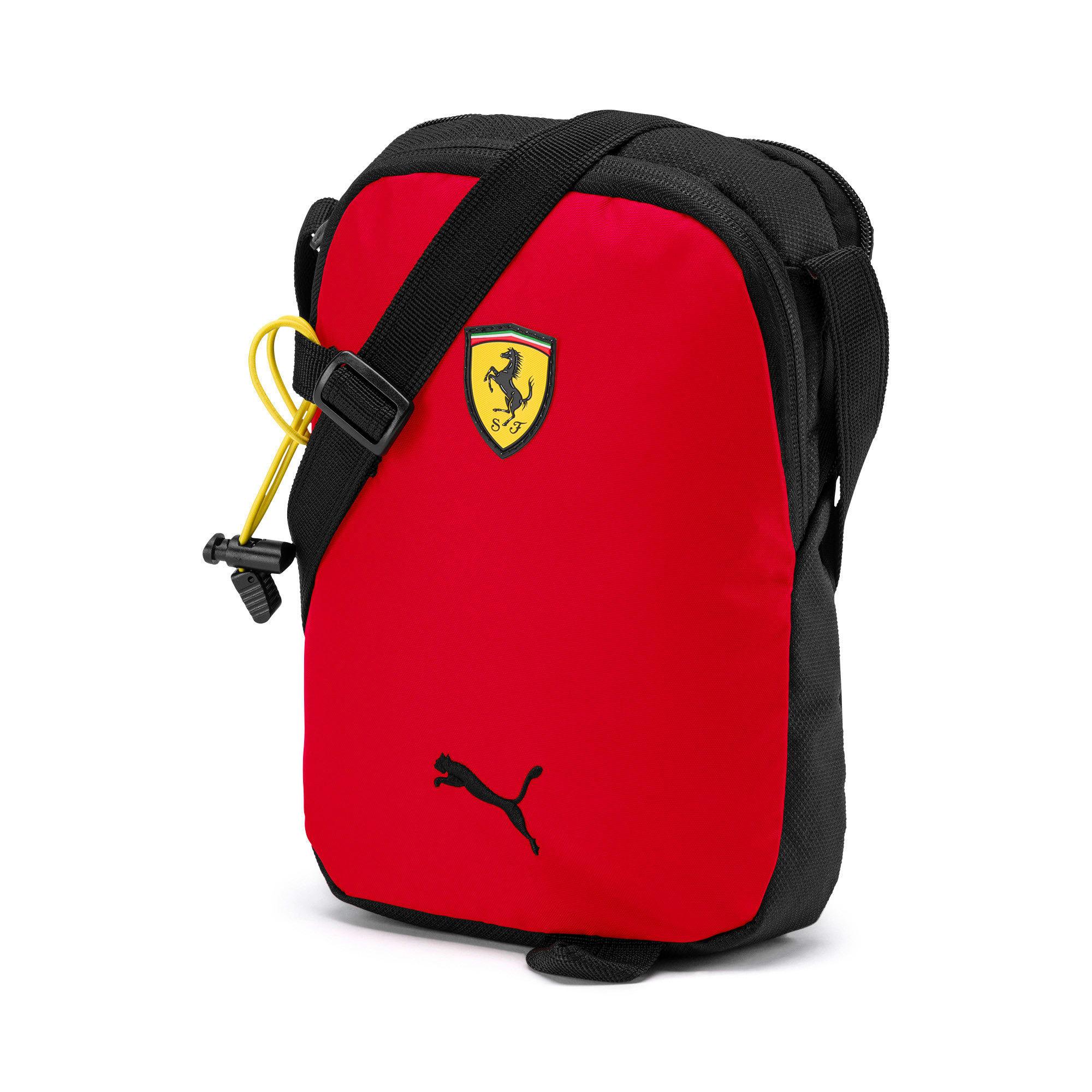 Miniatura 1 de Bolso de mano Scuderia Ferrari para fanáticos, Rosso Corsa, mediano