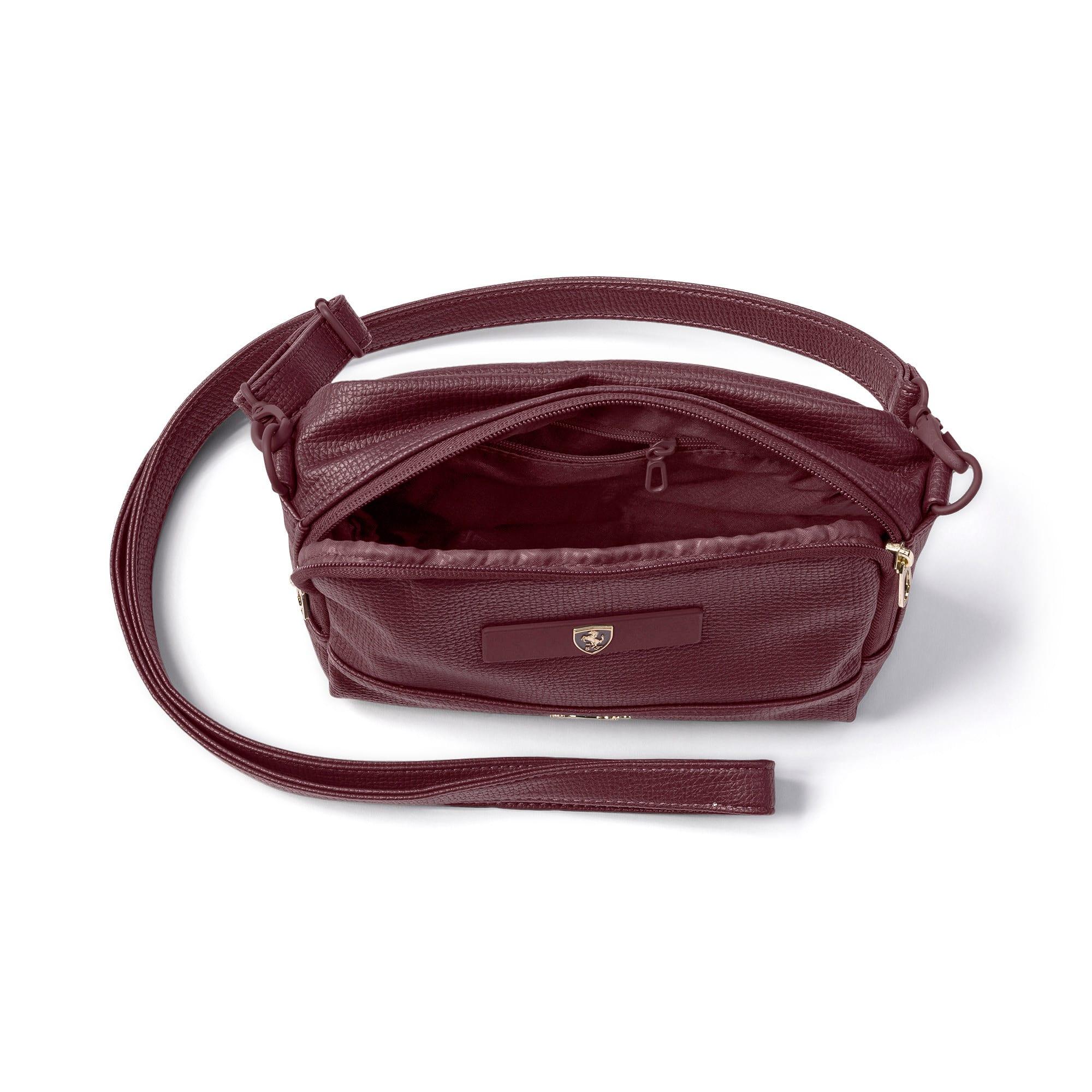 Thumbnail 4 of PUMA x Ferrari Mini Women's handbag, Vineyard Wine, medium-IND