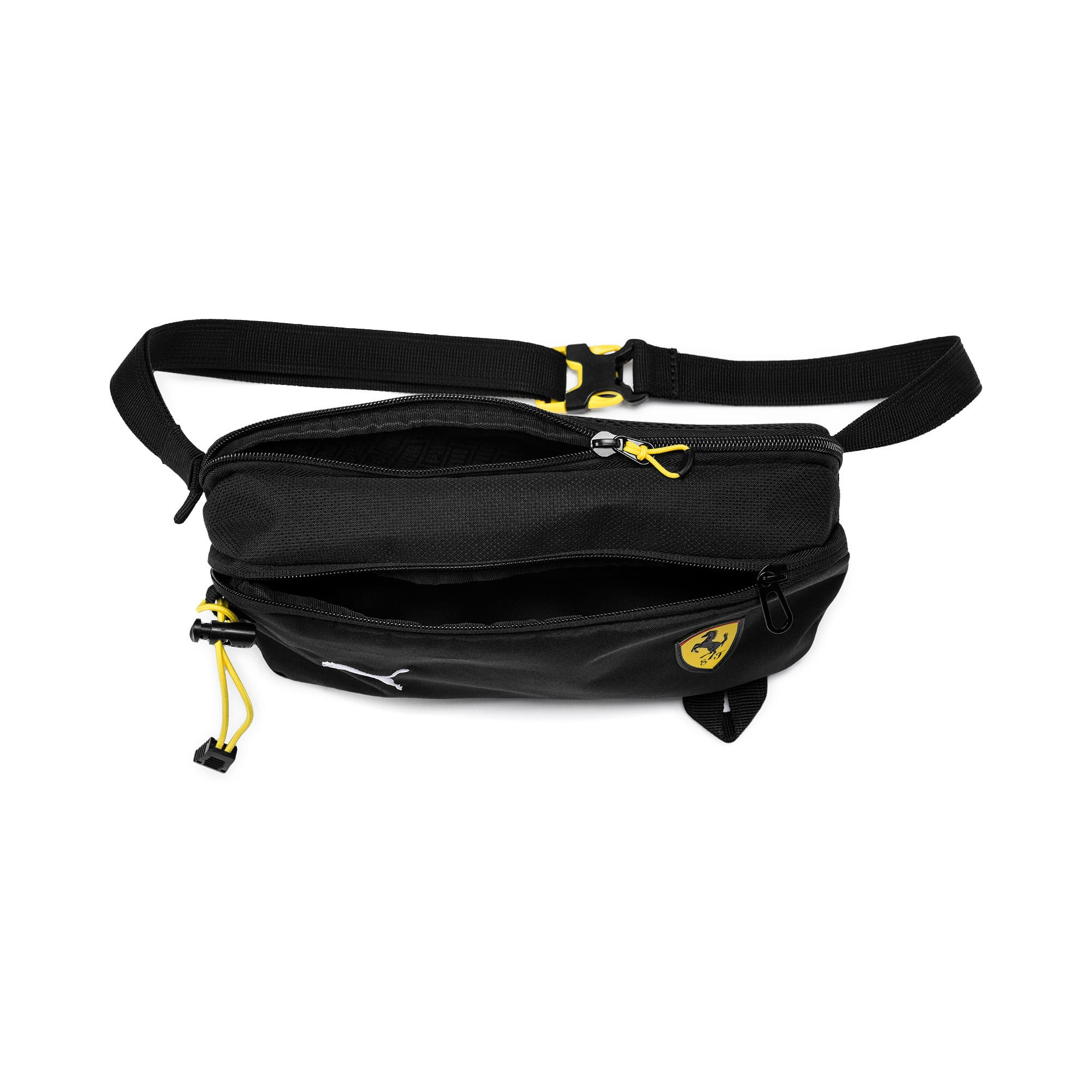 Thumbnail 3 of Ferrari Fanwear Waist Bag, Puma Black, medium