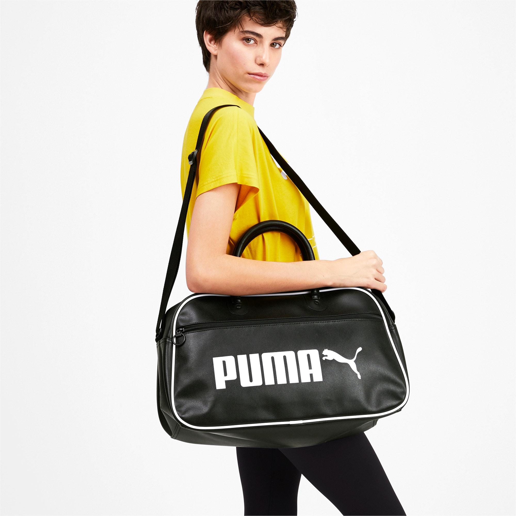 Thumbnail 2 of Campus Retro Grip Bag, Puma Black, medium