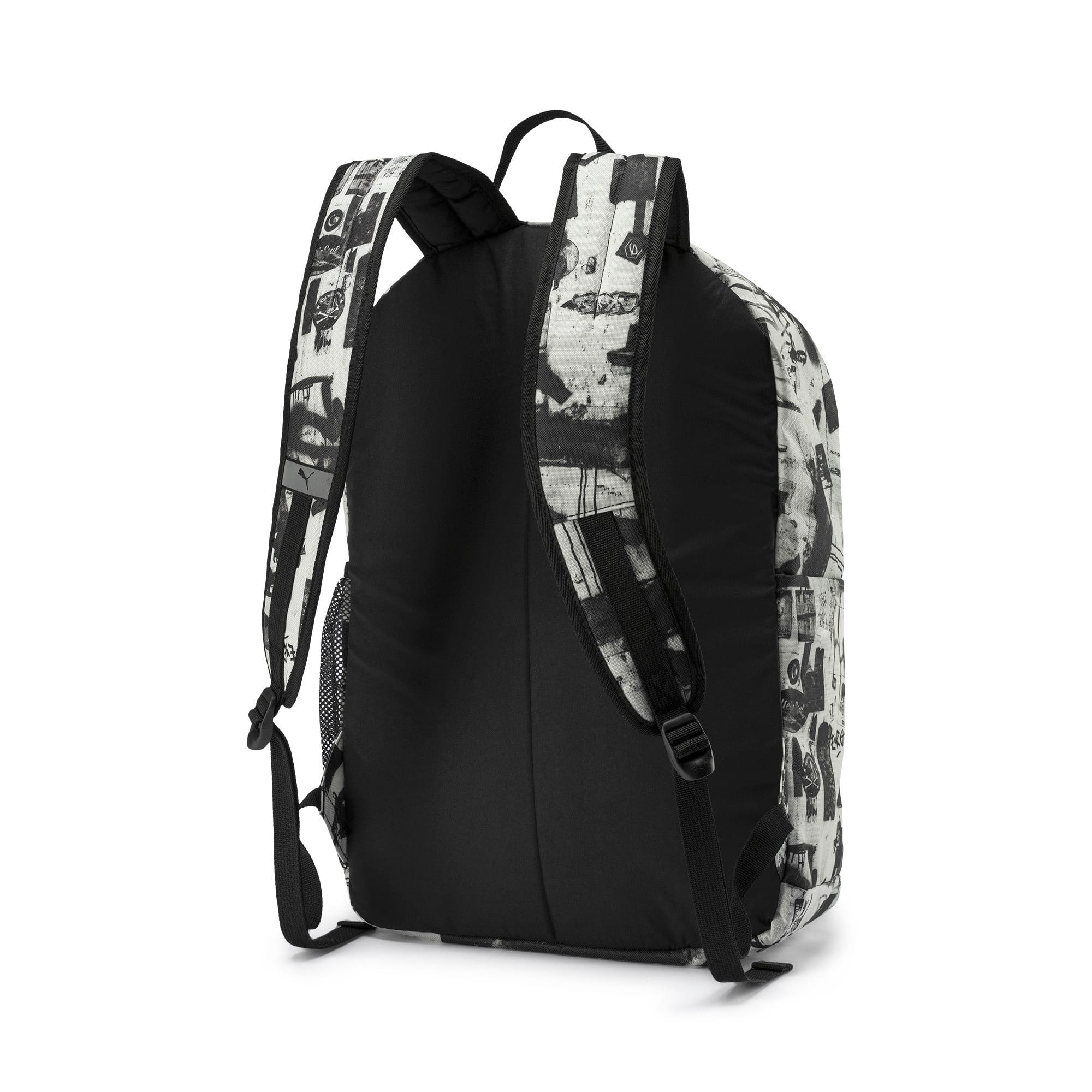 Thumbnail 2 of PUMA Academy Backpack Set, Puma White-Street AOP, medium