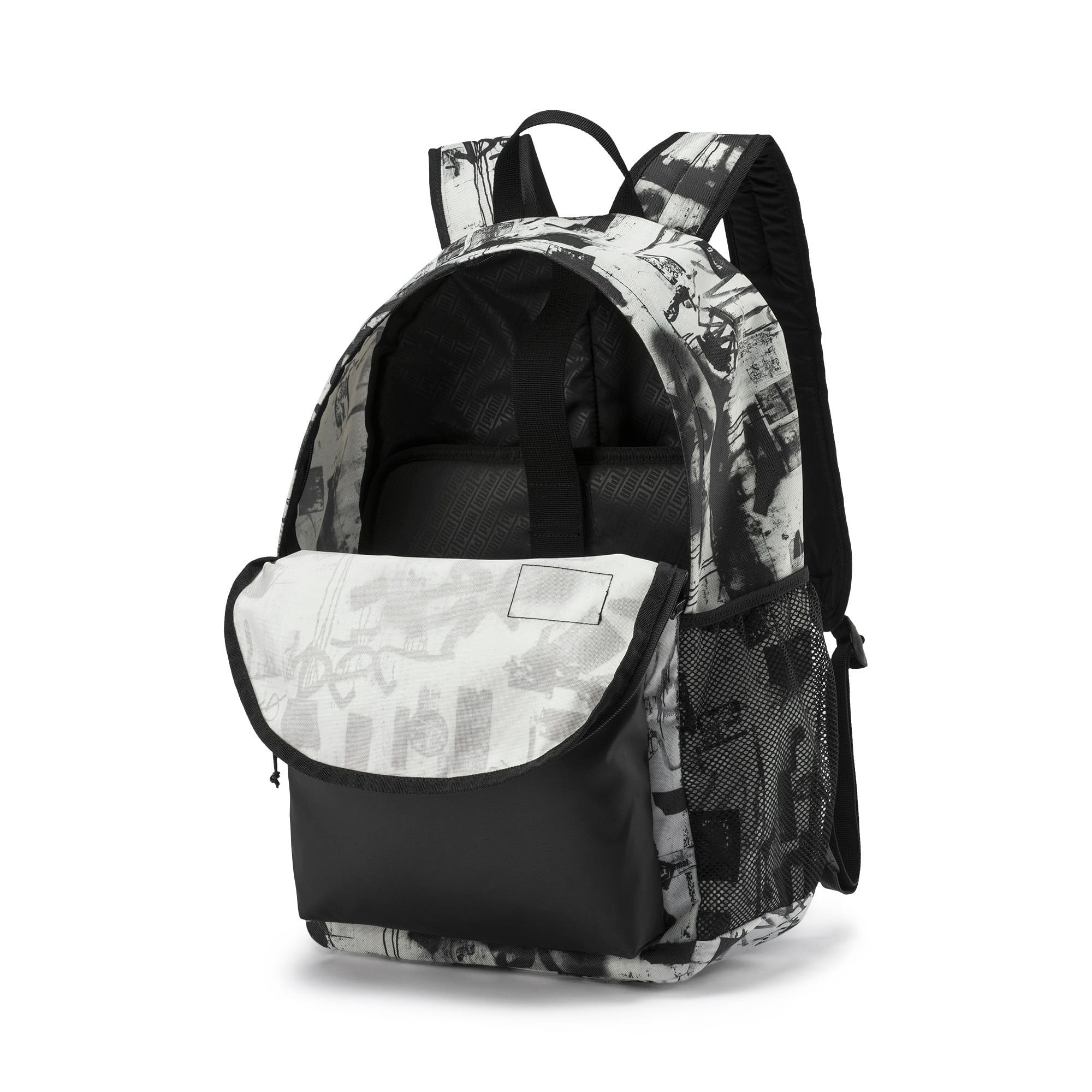 Thumbnail 3 of PUMA Academy Backpack Set, Puma White-Street AOP, medium