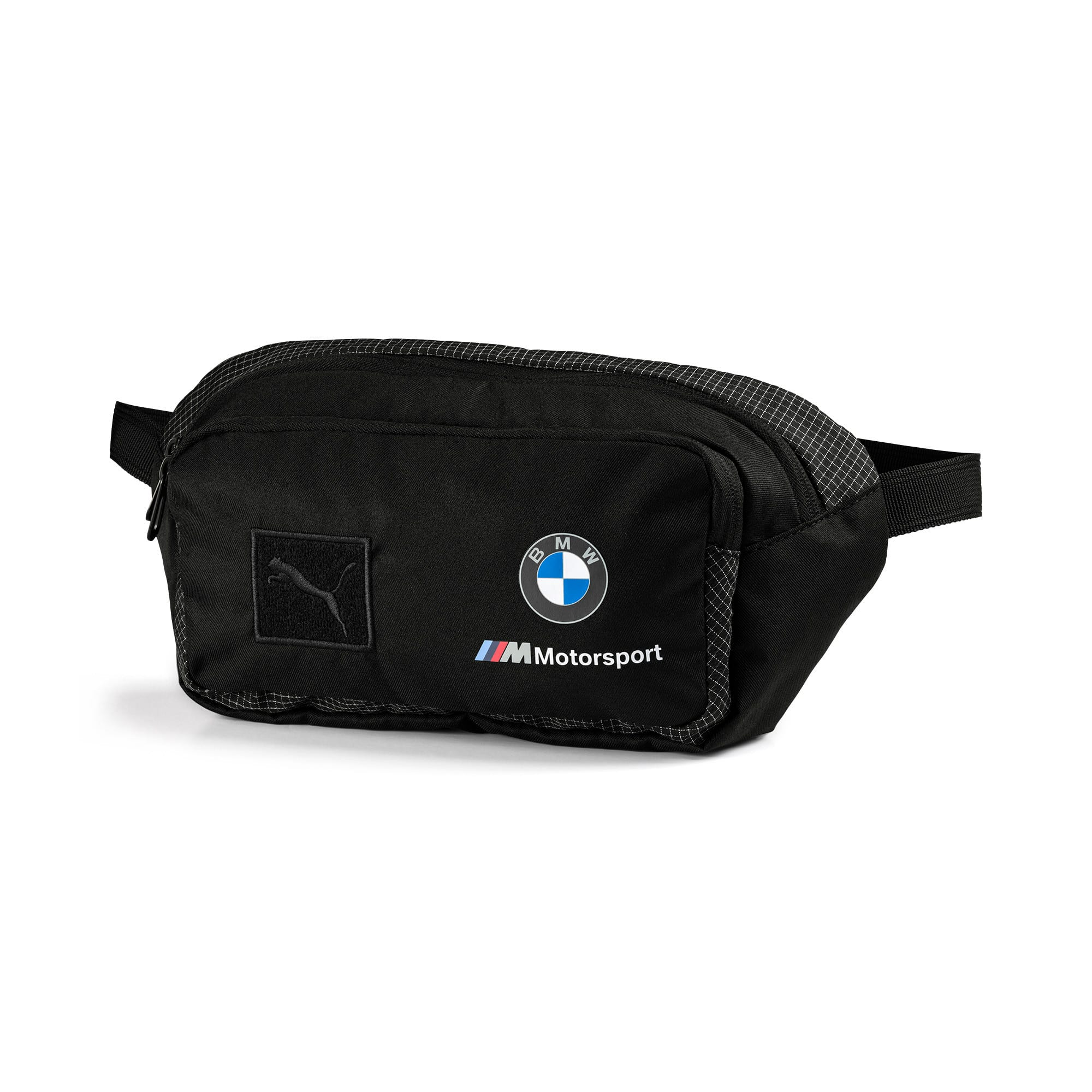 Miniatura 1 de Bolso pequeño para cintura BMW M Motorsport, Puma Black, mediano