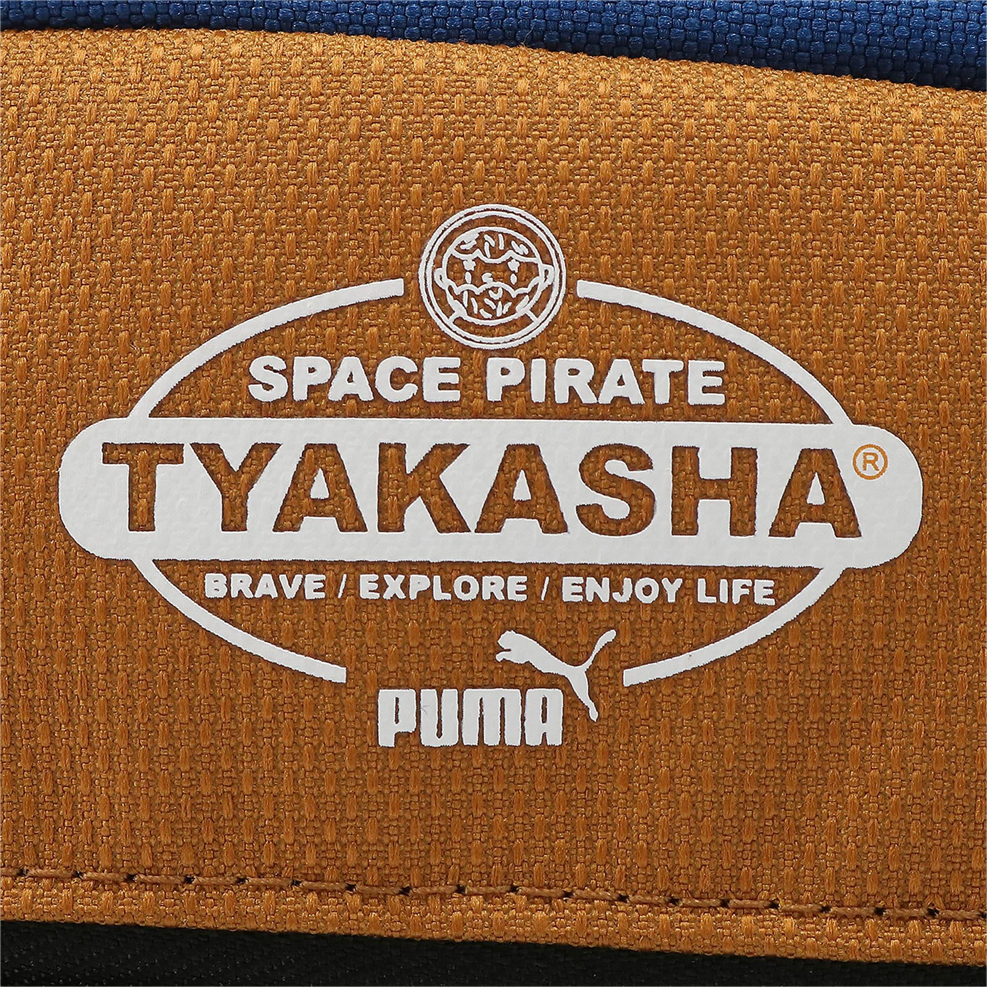 Thumbnail 3 of PUMA x TYAKASHA クロスボディーバッグ 2L, G.Blue-F.Brick-B.Brown, medium-JPN