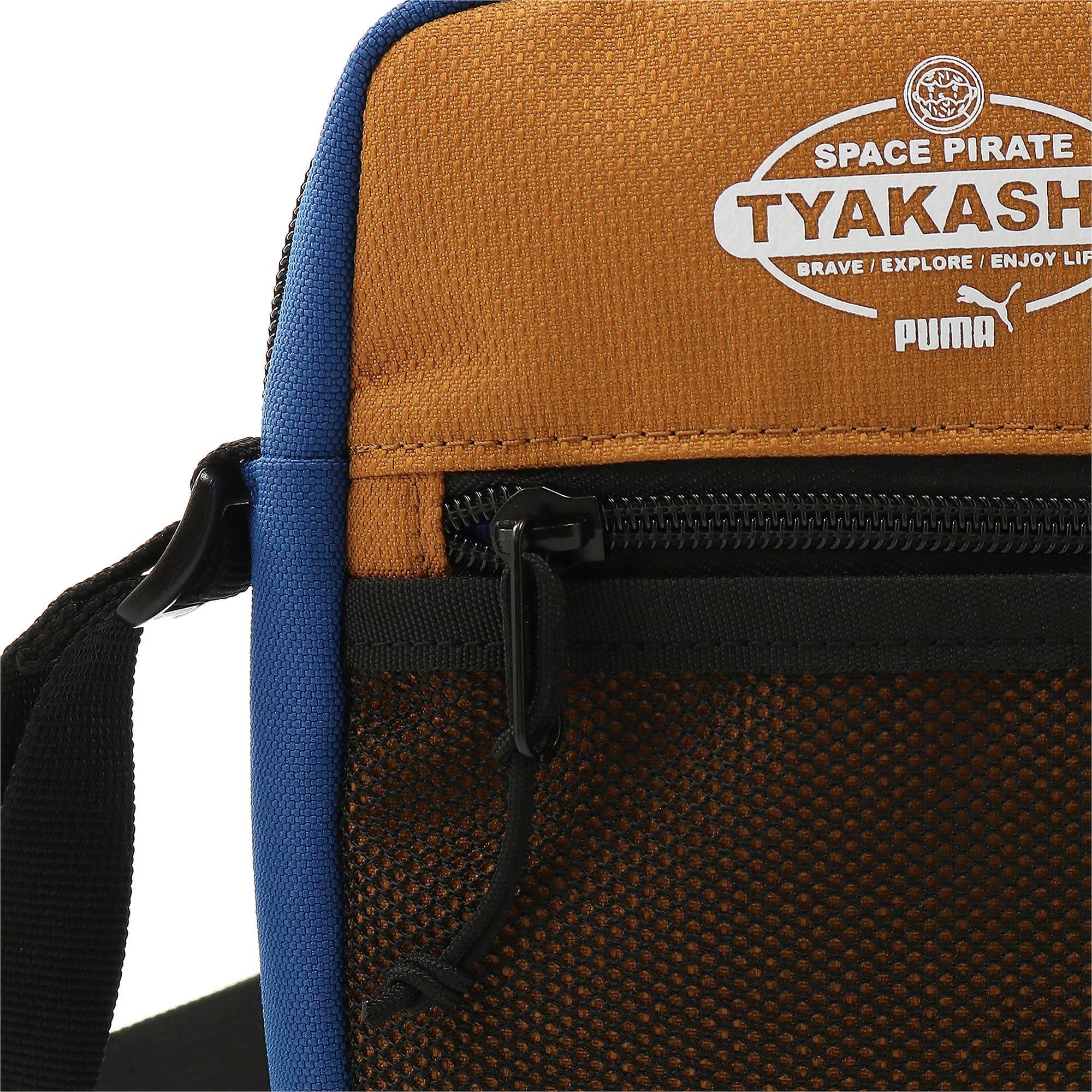 Thumbnail 5 of PUMA x TYAKASHA クロスボディーバッグ 2L, G.Blue-F.Brick-B.Brown, medium-JPN