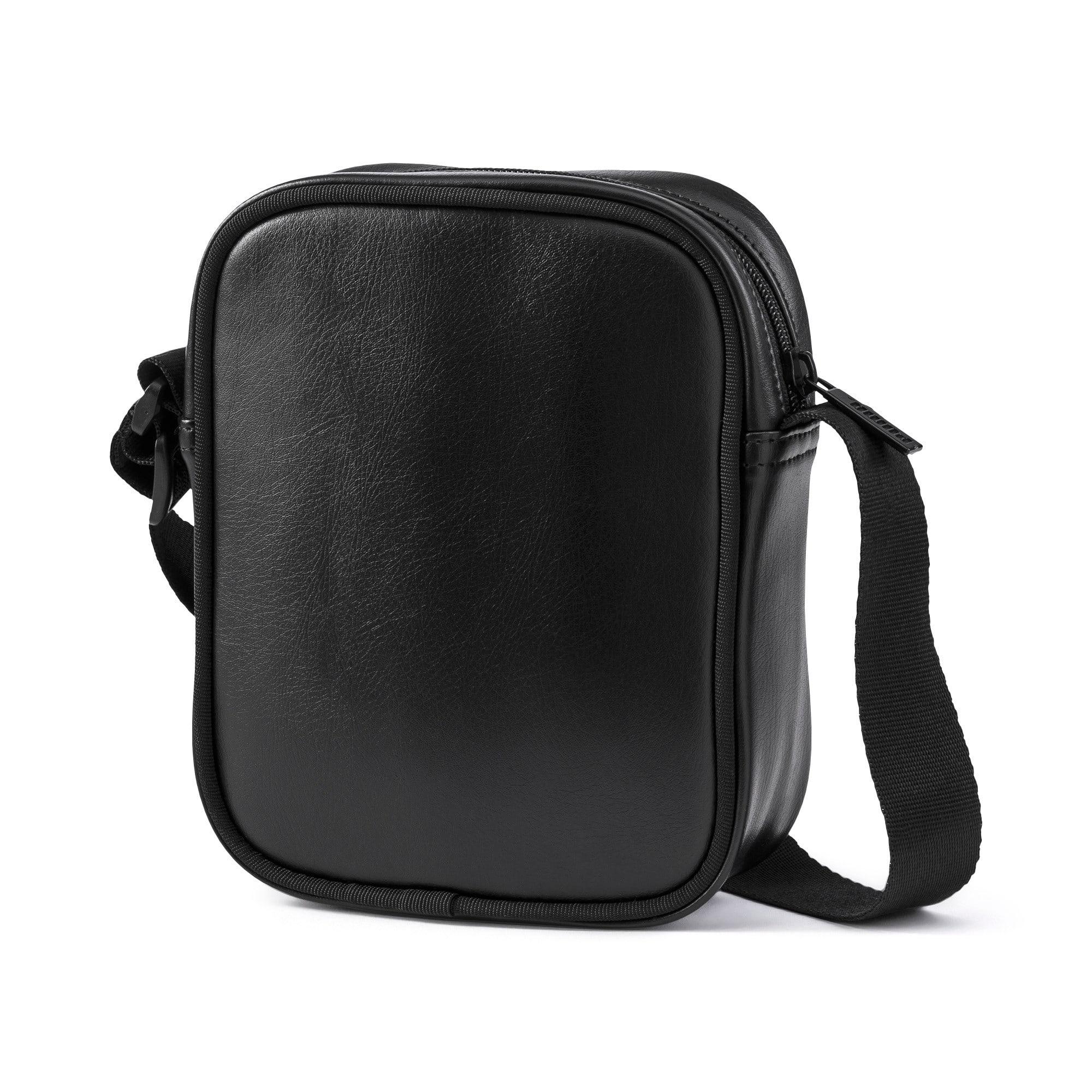 Anteprima 3 di Up Women's Portable Shoulder Bag, Puma Black-gold, medio