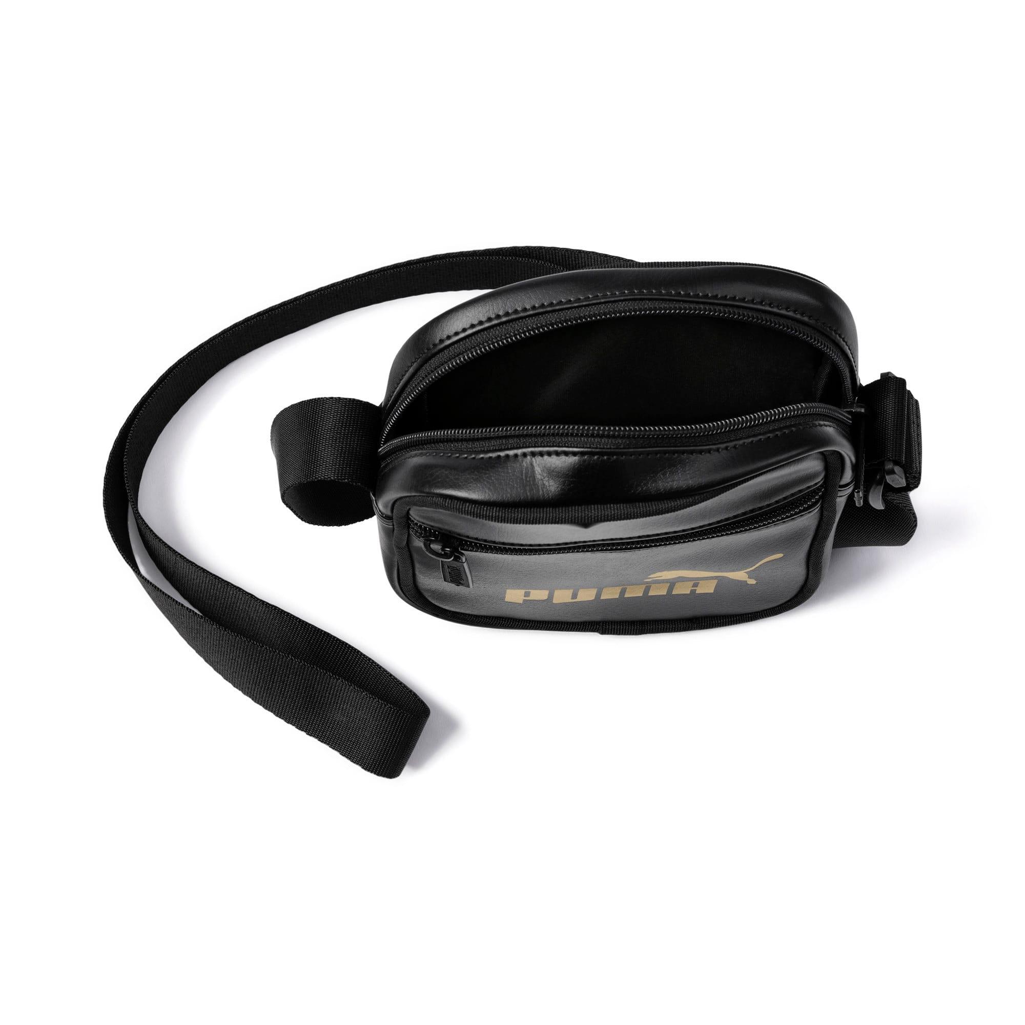 Anteprima 4 di Up Women's Portable Shoulder Bag, Puma Black-gold, medio