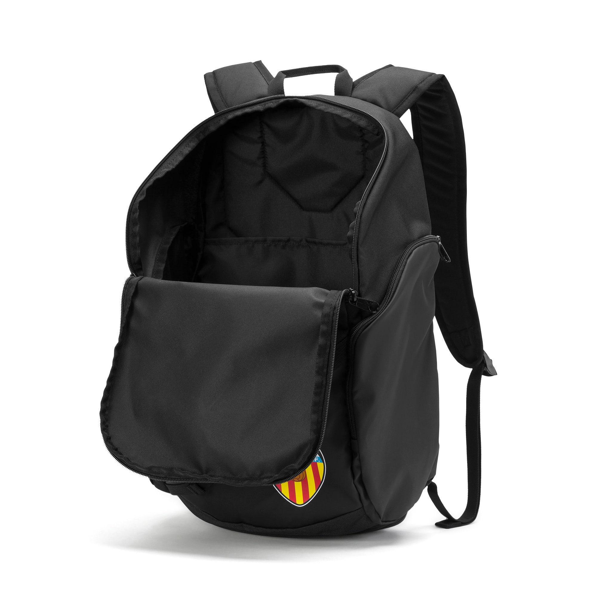 Thumbnail 3 of Valencia CF LIGA Football Backpack, Puma Black-Puma White, medium