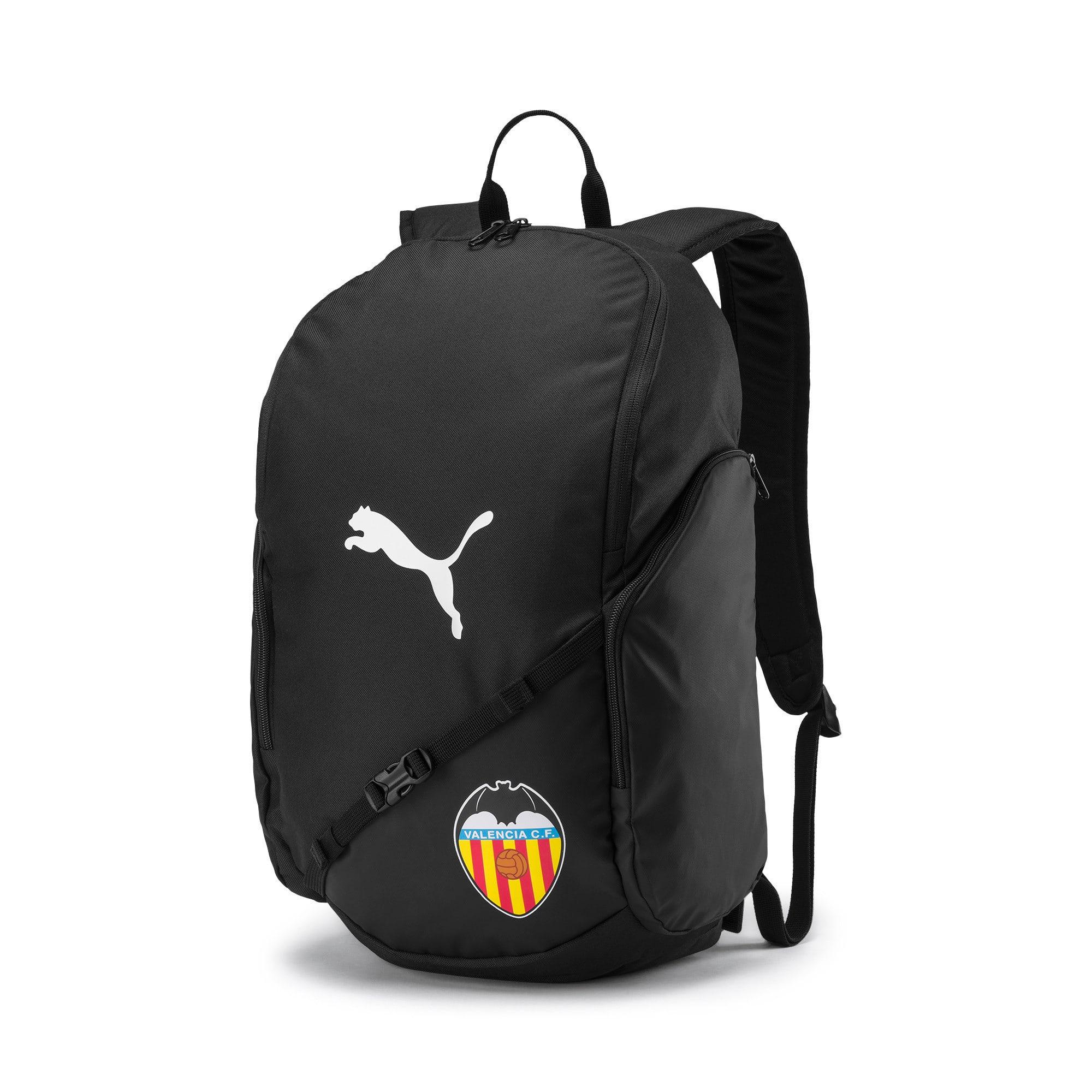 Thumbnail 1 of Valencia CF LIGA Football Backpack, Puma Black-Puma White, medium