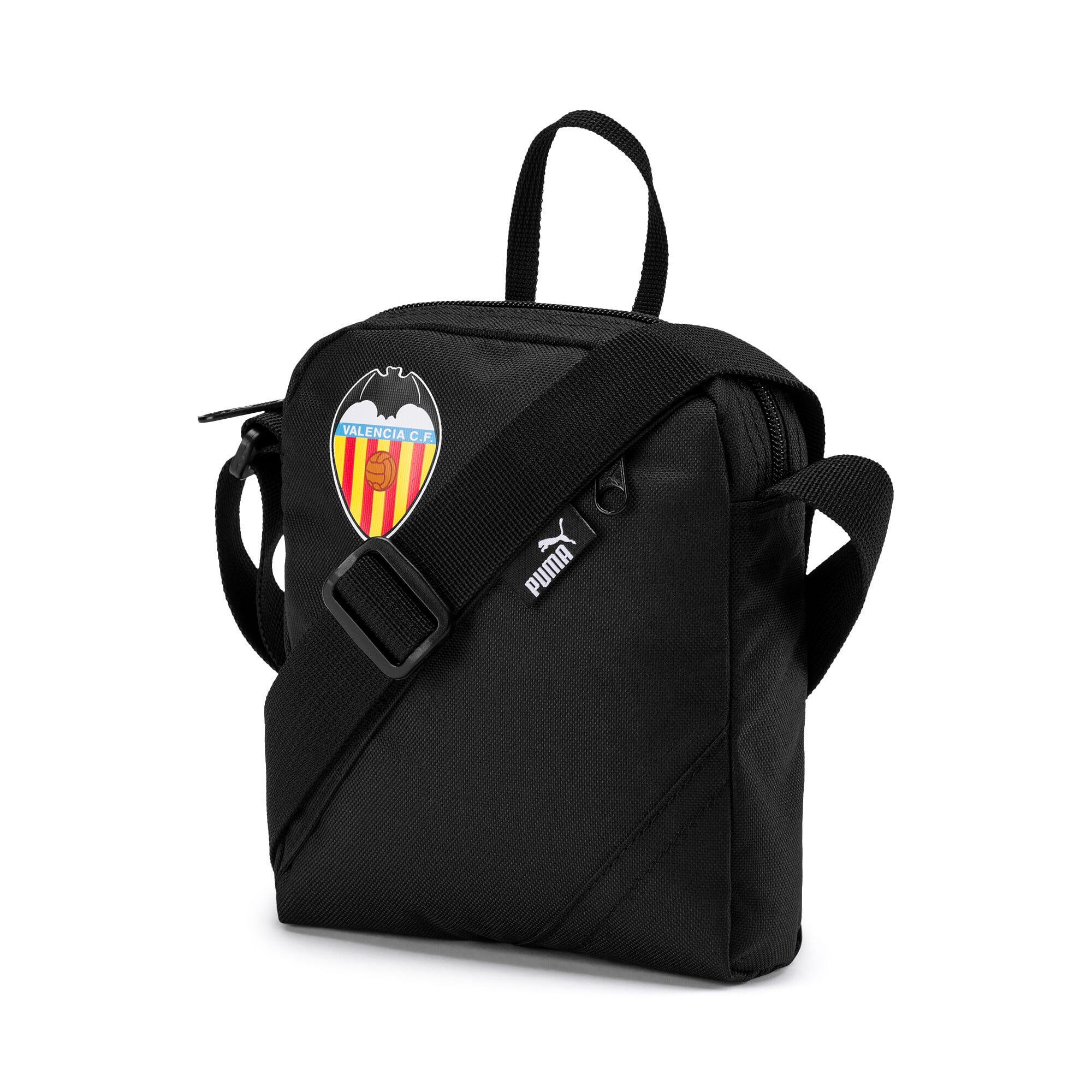 Thumbnail 1 of Valencia CF Portable City Bag, Puma Black-Puma White, medium