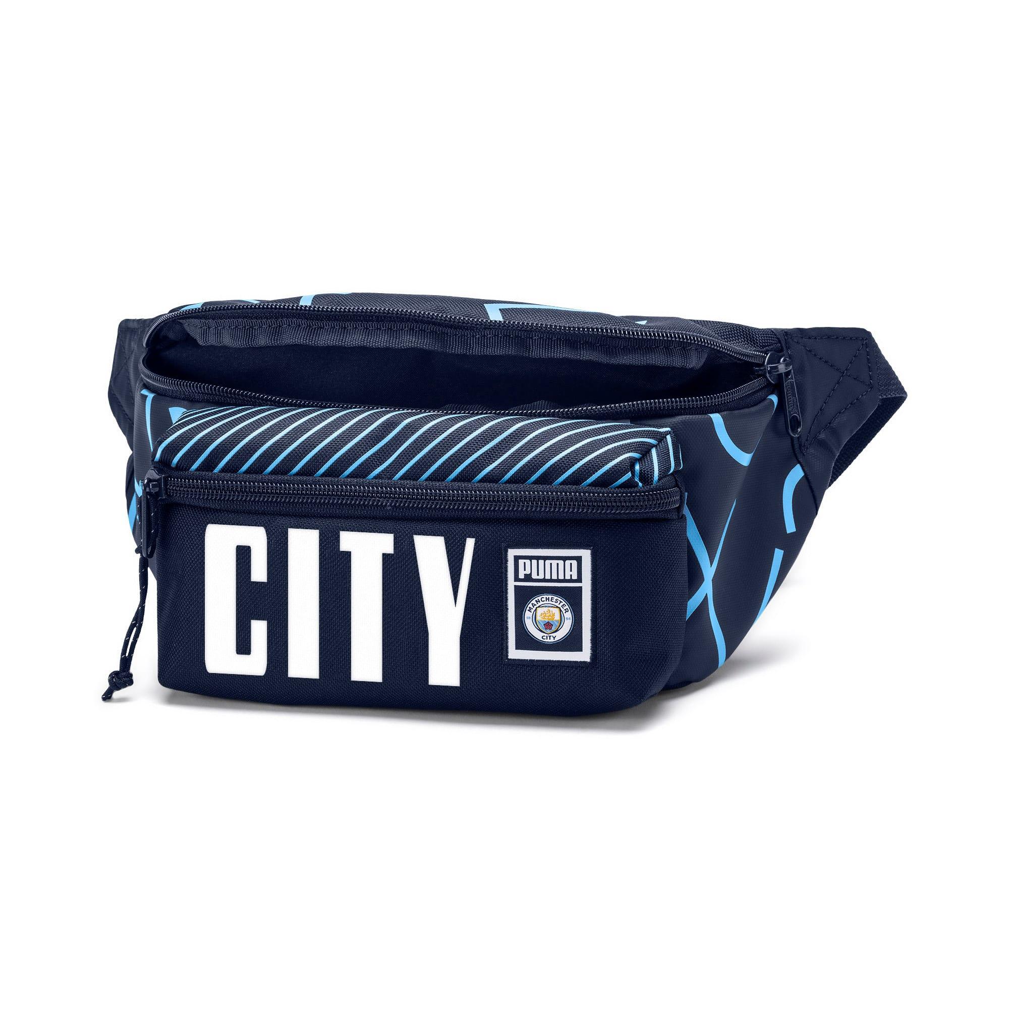 Thumbnail 3 of Man City Waist Bag, Peacoat-Team Light Blue, medium