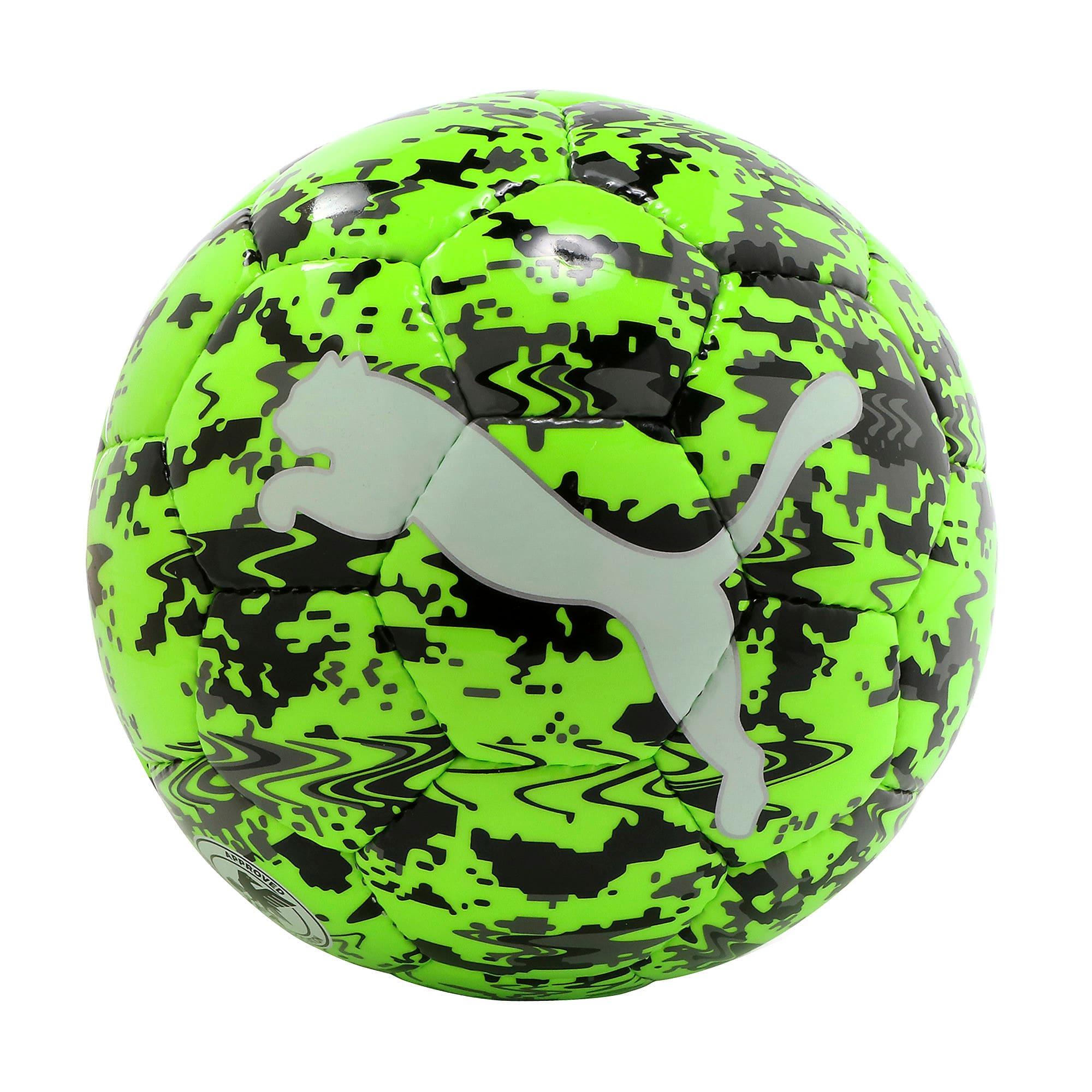 Thumbnail 1 of プーマ ワン レーザー サッカー ボール J, Green Gecko-Black-Gray, medium-JPN