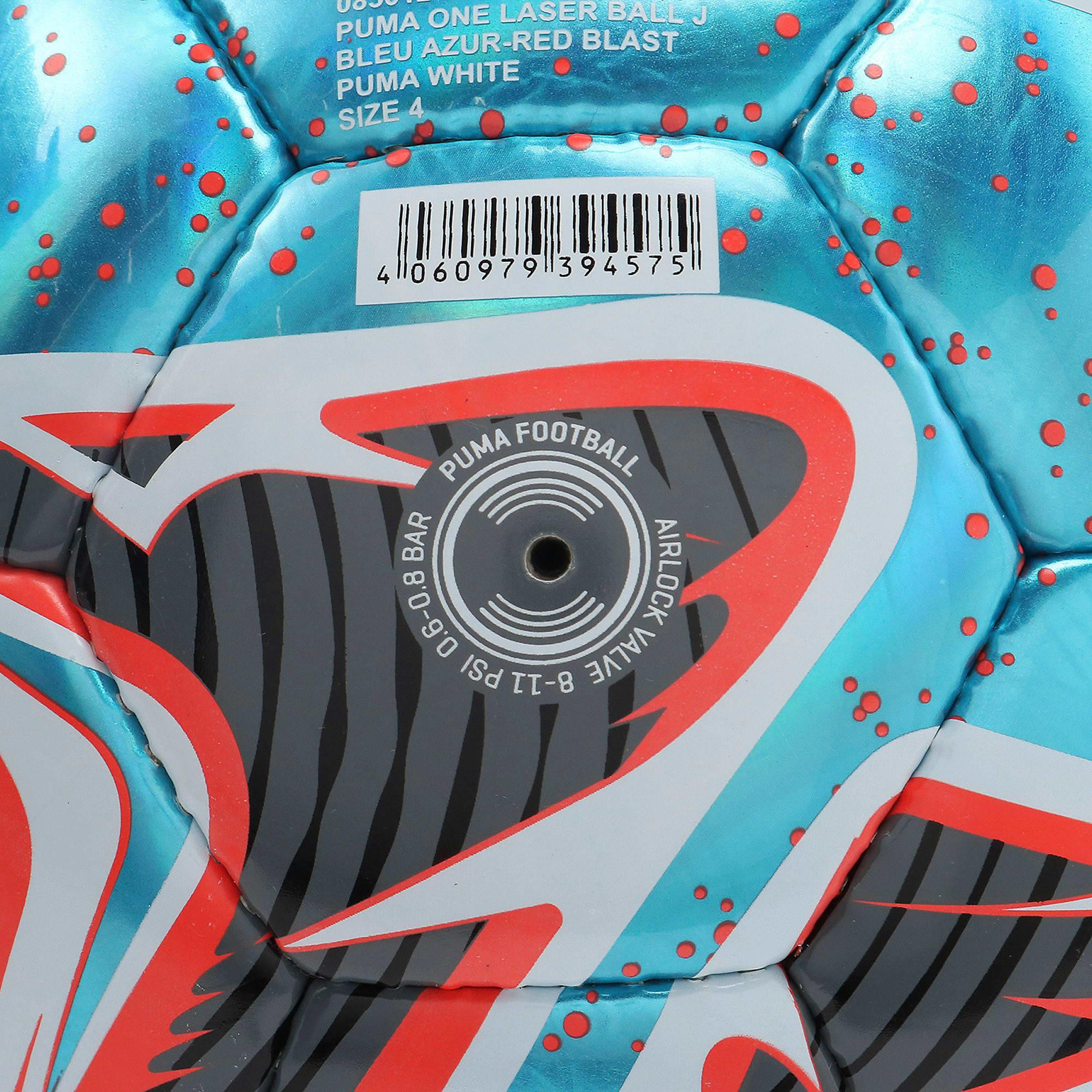 Thumbnail 7 of プーマ ワン レーザー サッカー ボール J, Bleu Azur-Red Blast-White, medium-JPN
