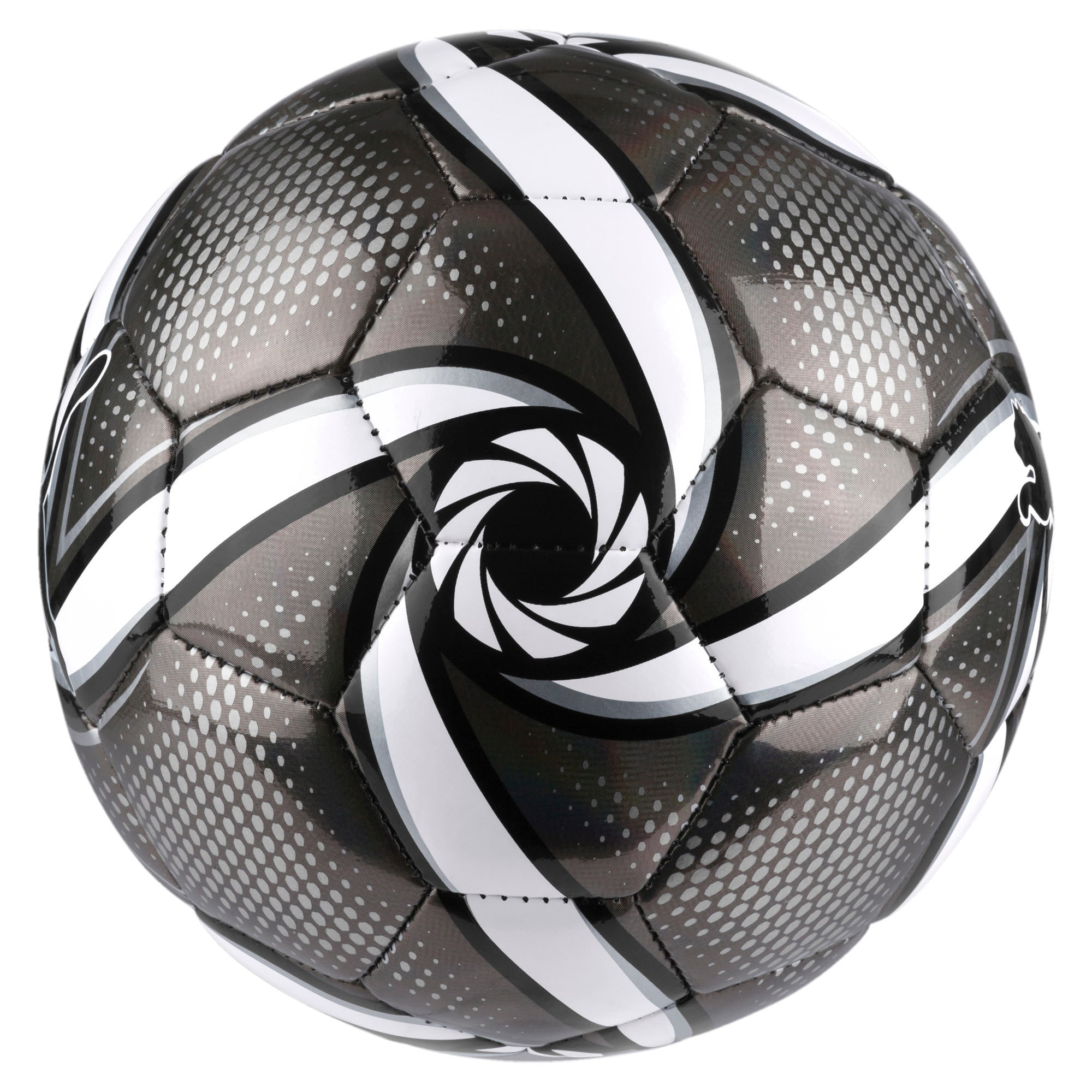Thumbnail 2 of FUTURE Flare mini ball, Puma Black-Puma White-Silver, medium