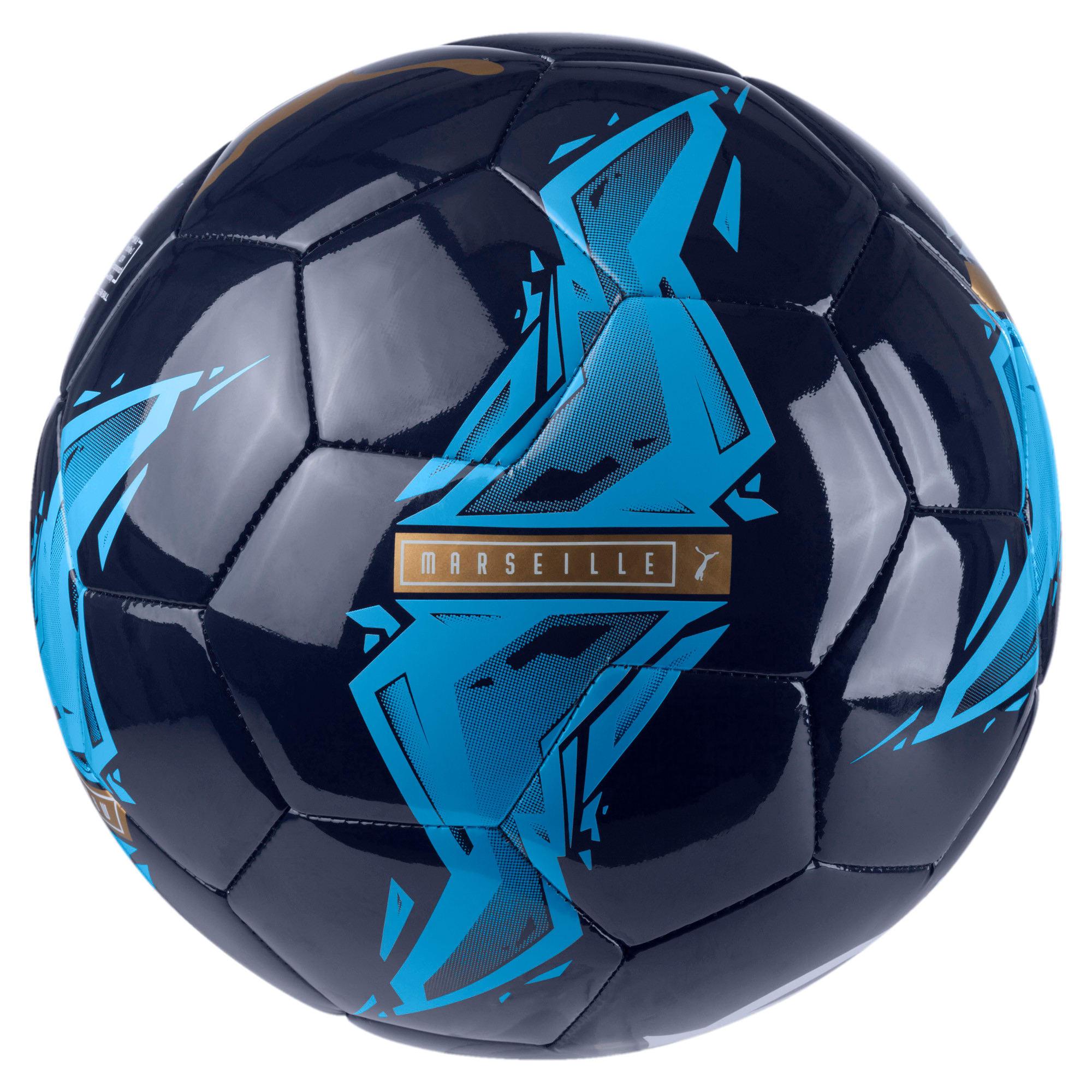 Thumbnail 2 of Olympique de Marseille Fan Ball, Peacoat-Bleu Azur, medium