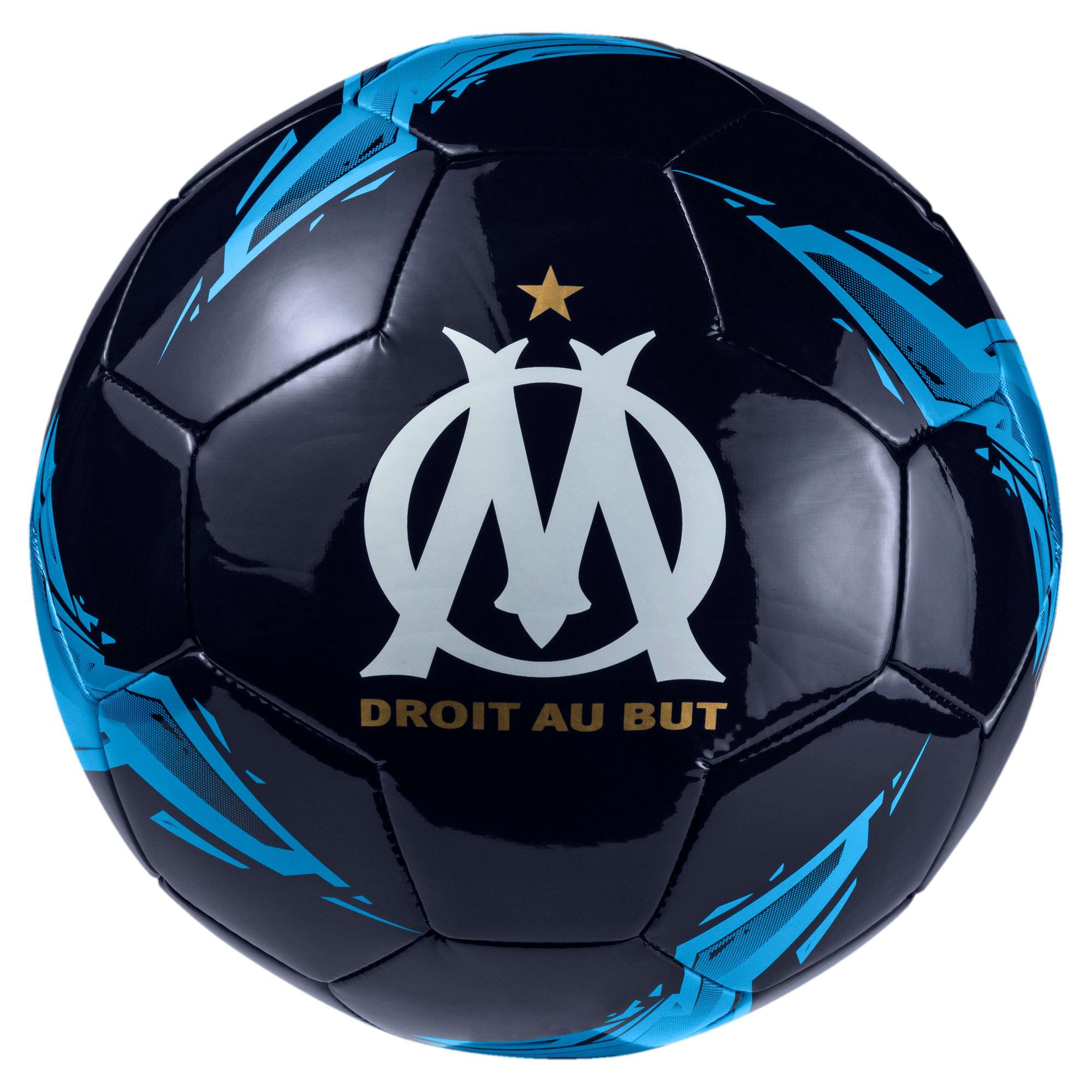 Thumbnail 1 of Olympique de Marseille Fan Ball, Peacoat-Bleu Azur, medium