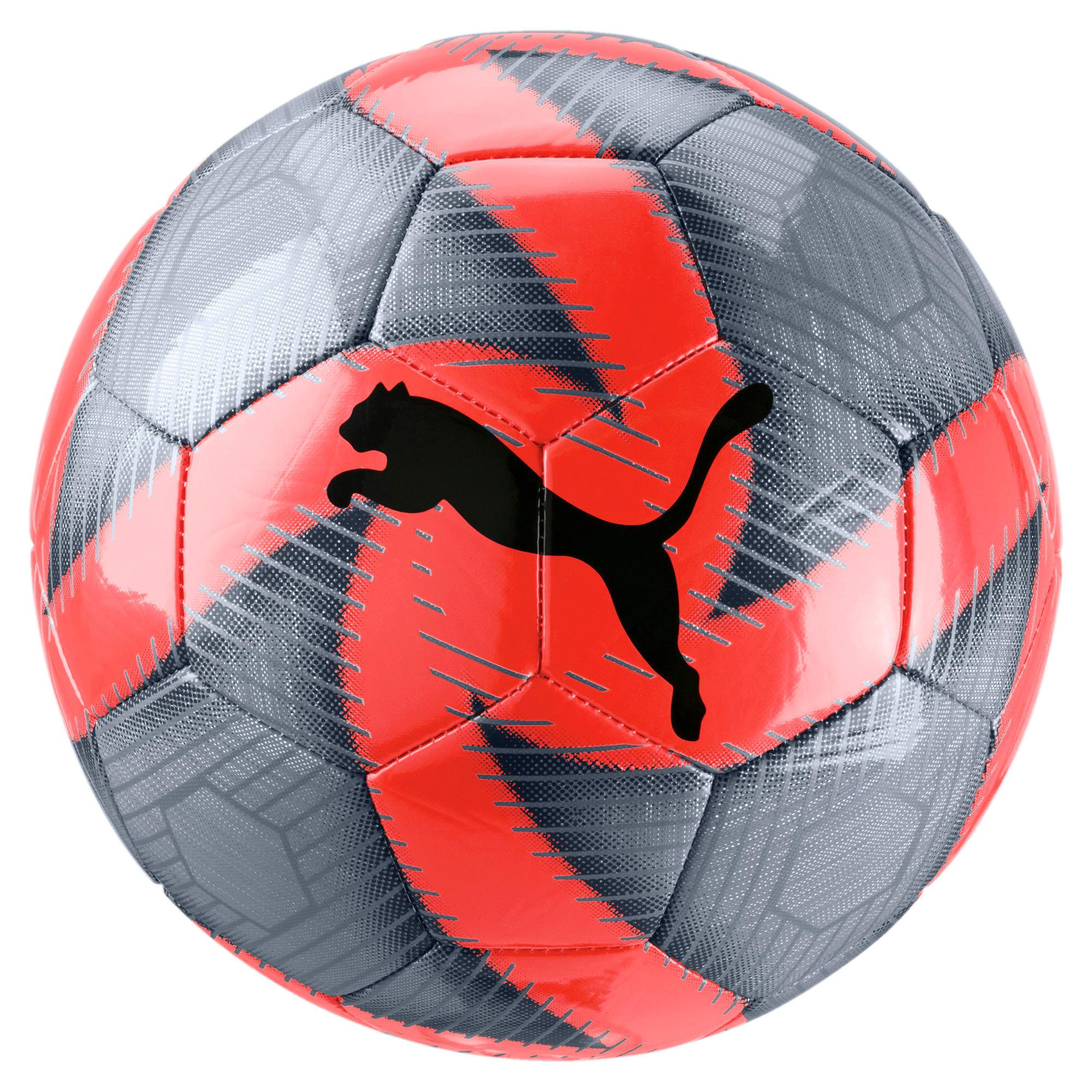 Thumbnail 1 of FUTURE Flare Soccer Ball, Grey-Nrgy Red-Asphalt-White, medium
