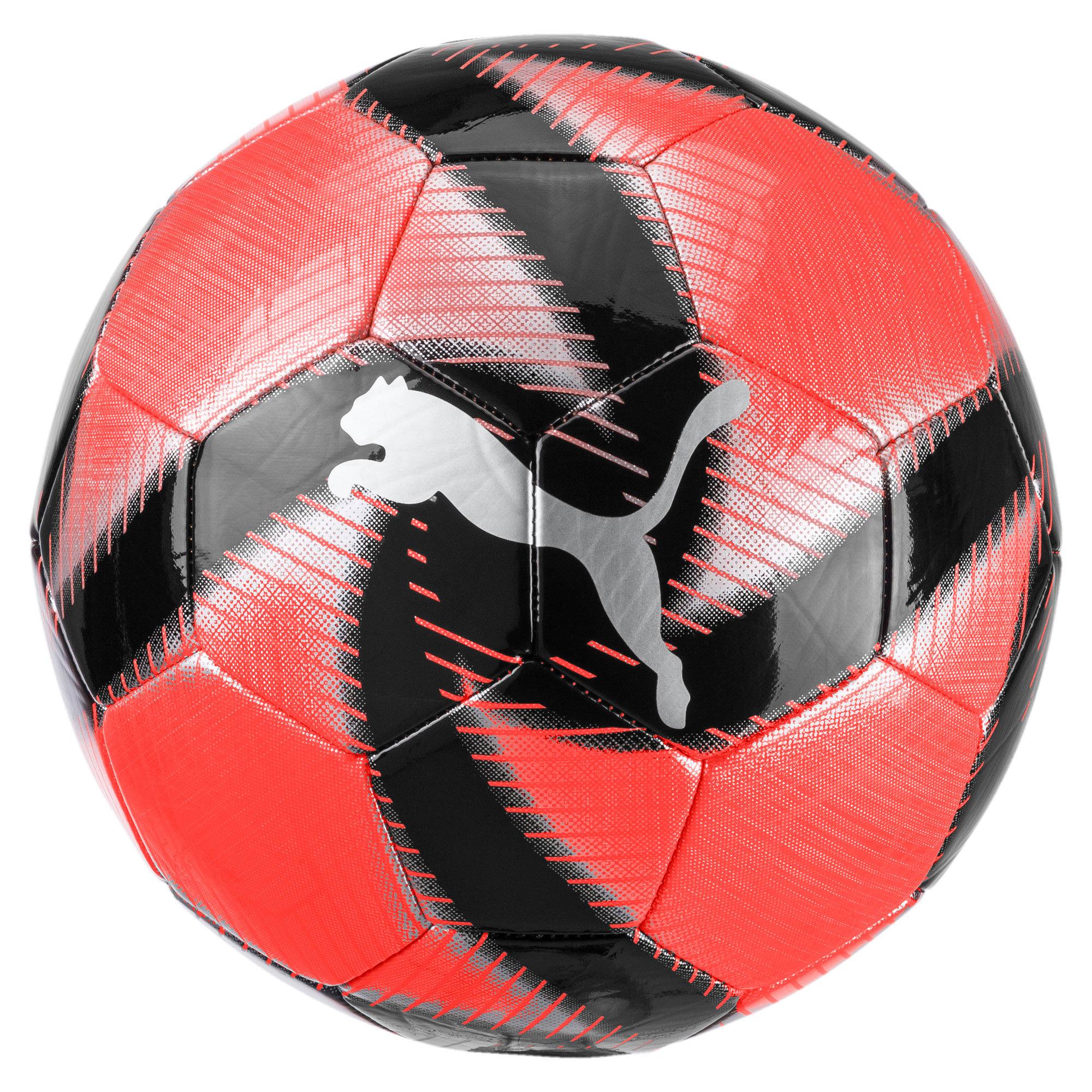 Thumbnail 1 of FUTURE Flare Soccer Ball, Nrgy Red-Asphalt-Black-White, medium