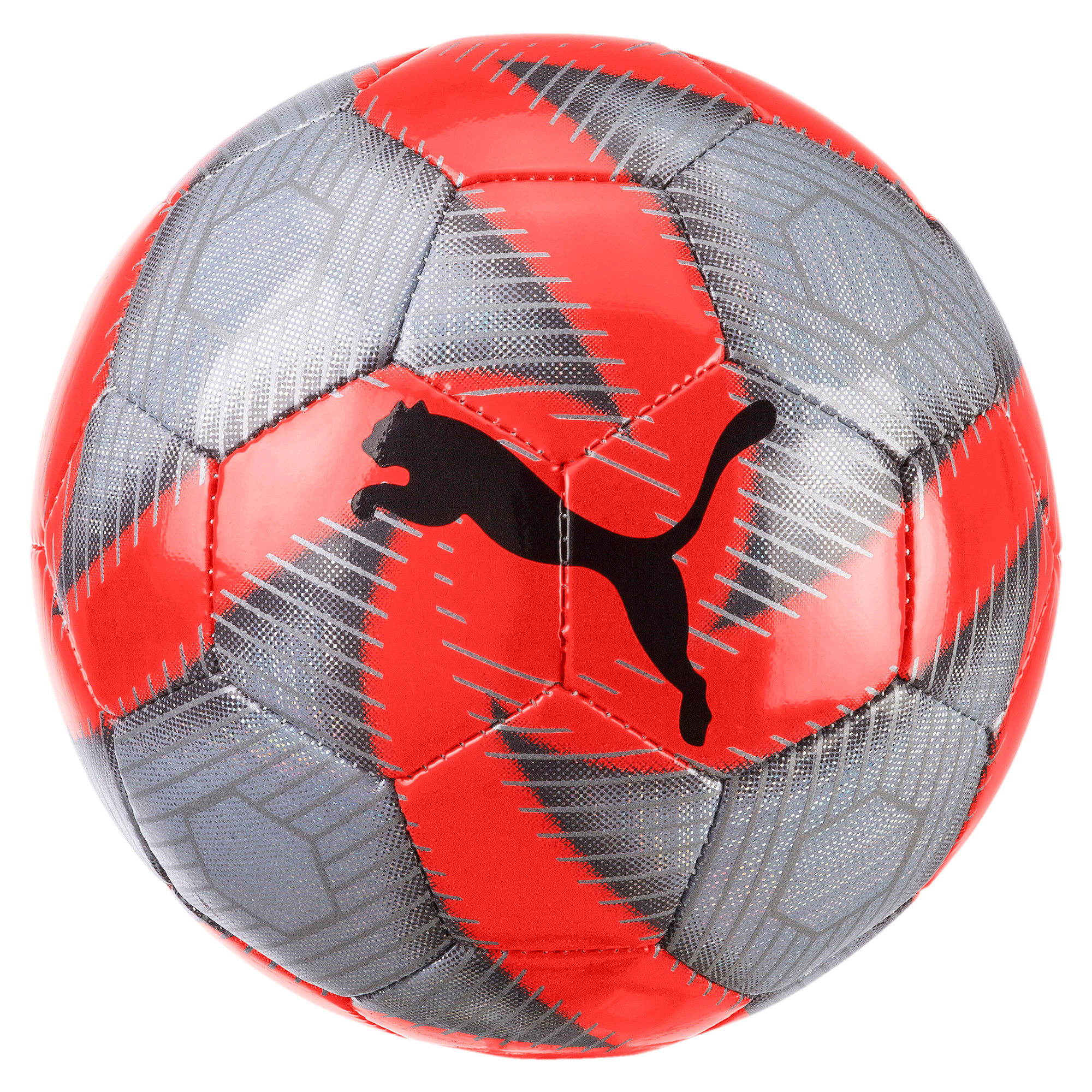 Thumbnail 1 of FUTURE Flare Mini Soccer Ball, Grey-Nrgy Red-CASTLE-White, medium