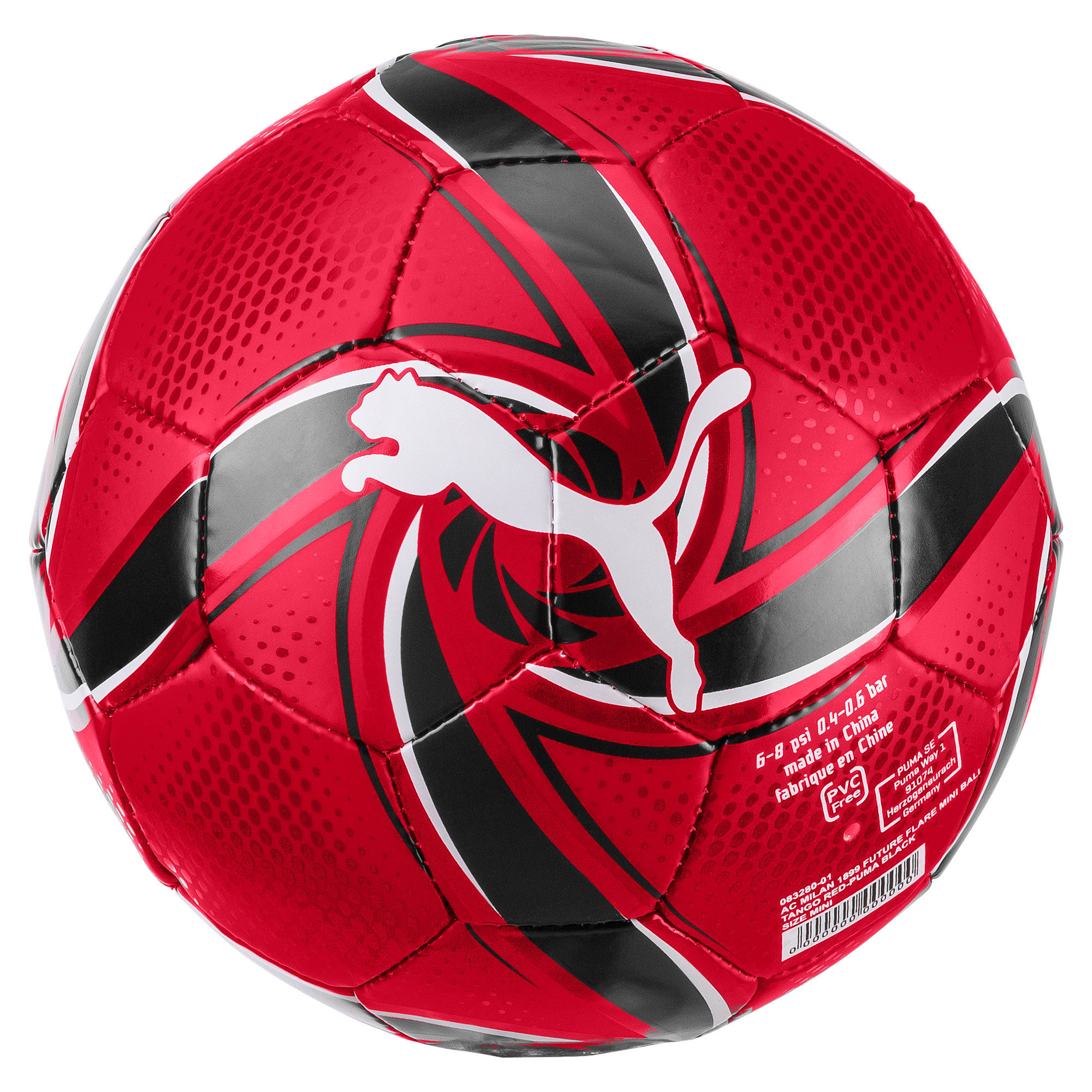 Thumbnail 1 of AC Milan FUTURE Flare Mini Ball, Tango Red -Puma Black, medium