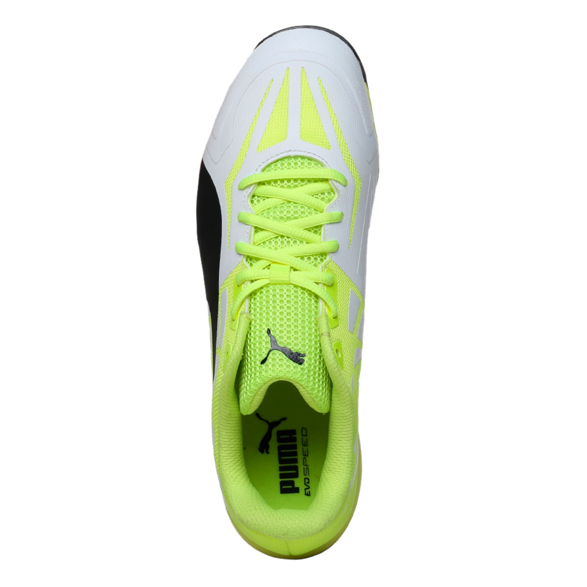 Thumbnail 3 of evoSPEED Spike 1.5 Men's Cricket Boots, white-black-yellow, medium-IND