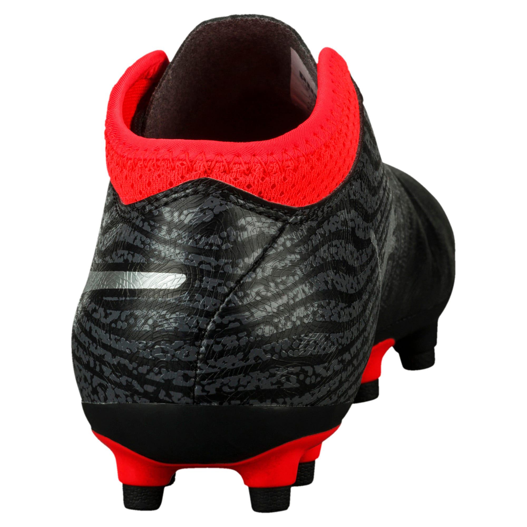 Thumbnail 4 of ONE 18.4 FG Soccer Cleats JR, Black-Silver-Red, medium