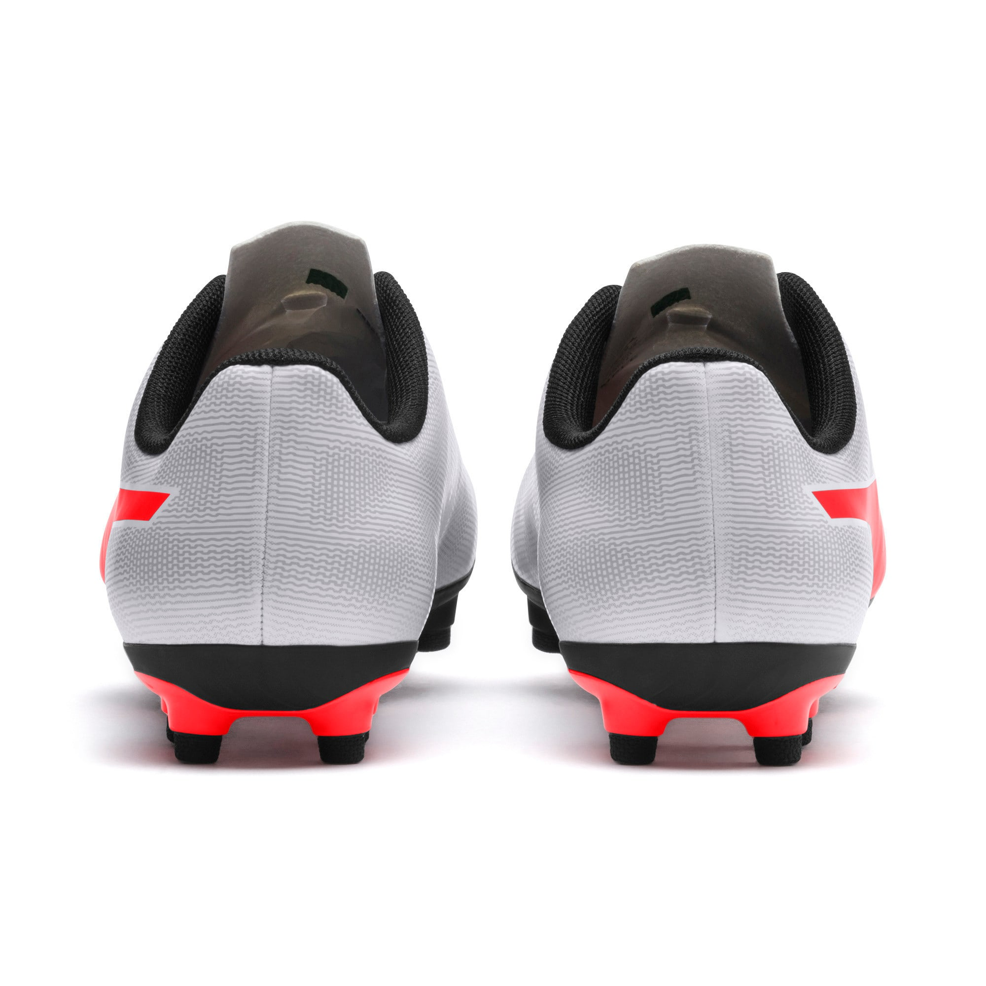 Thumbnail 3 of Rapido FG Youth Football Boots, White-Gray-Black-Red Blast, medium-IND
