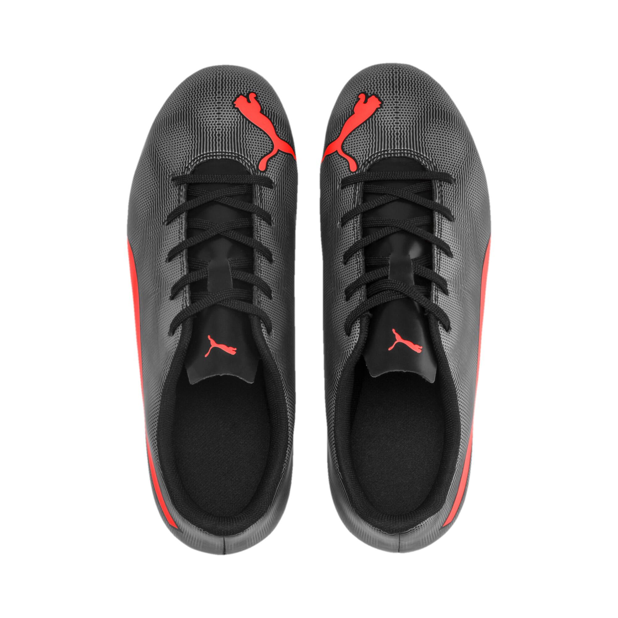Thumbnail 6 of Rapido FG Boy's Soccer Cleats JR, Black-Nrgy Red-Aged Silver, medium