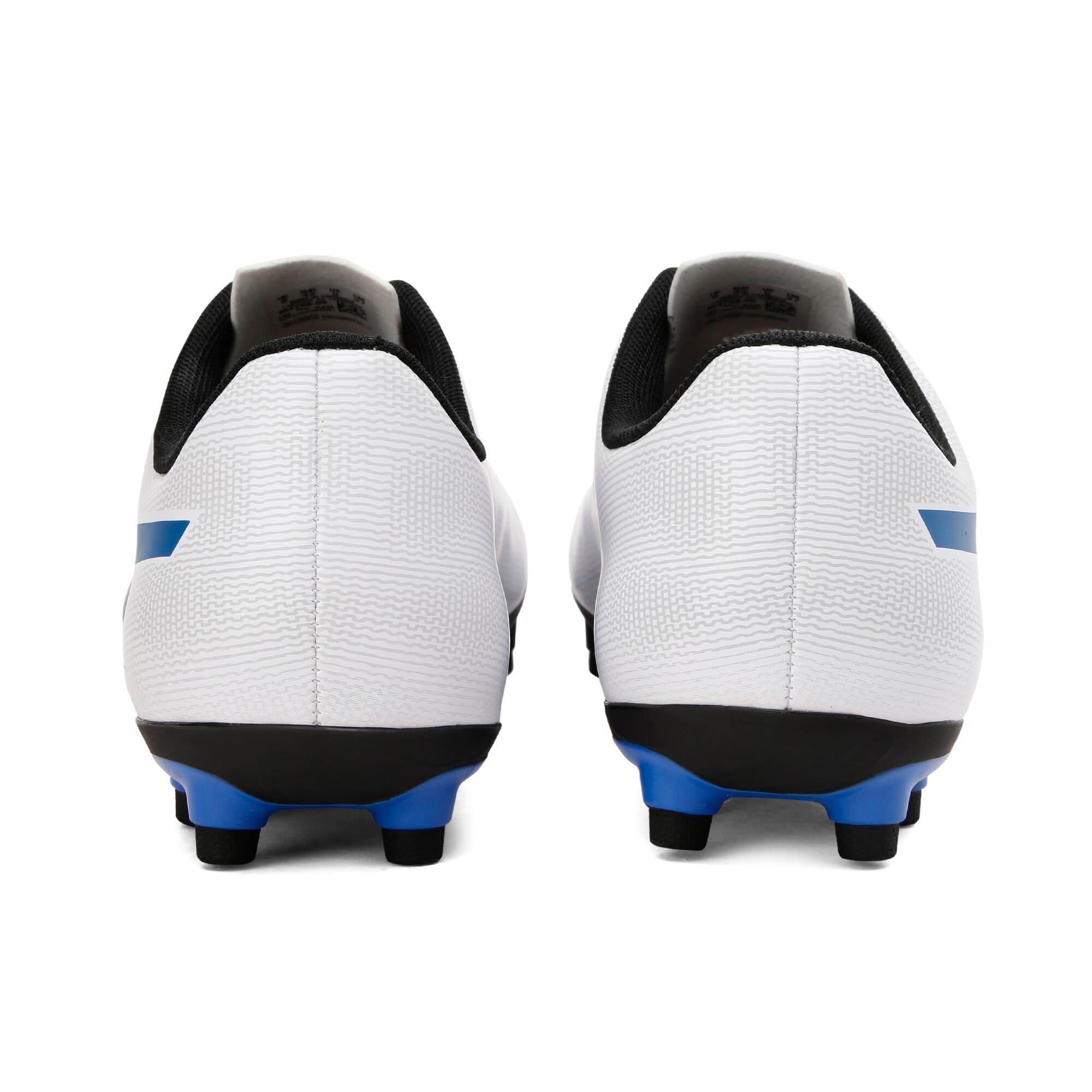 Thumbnail 3 of Rapido FG Youth Football Boots, White-Royal Blue-Light Gray, medium-IND