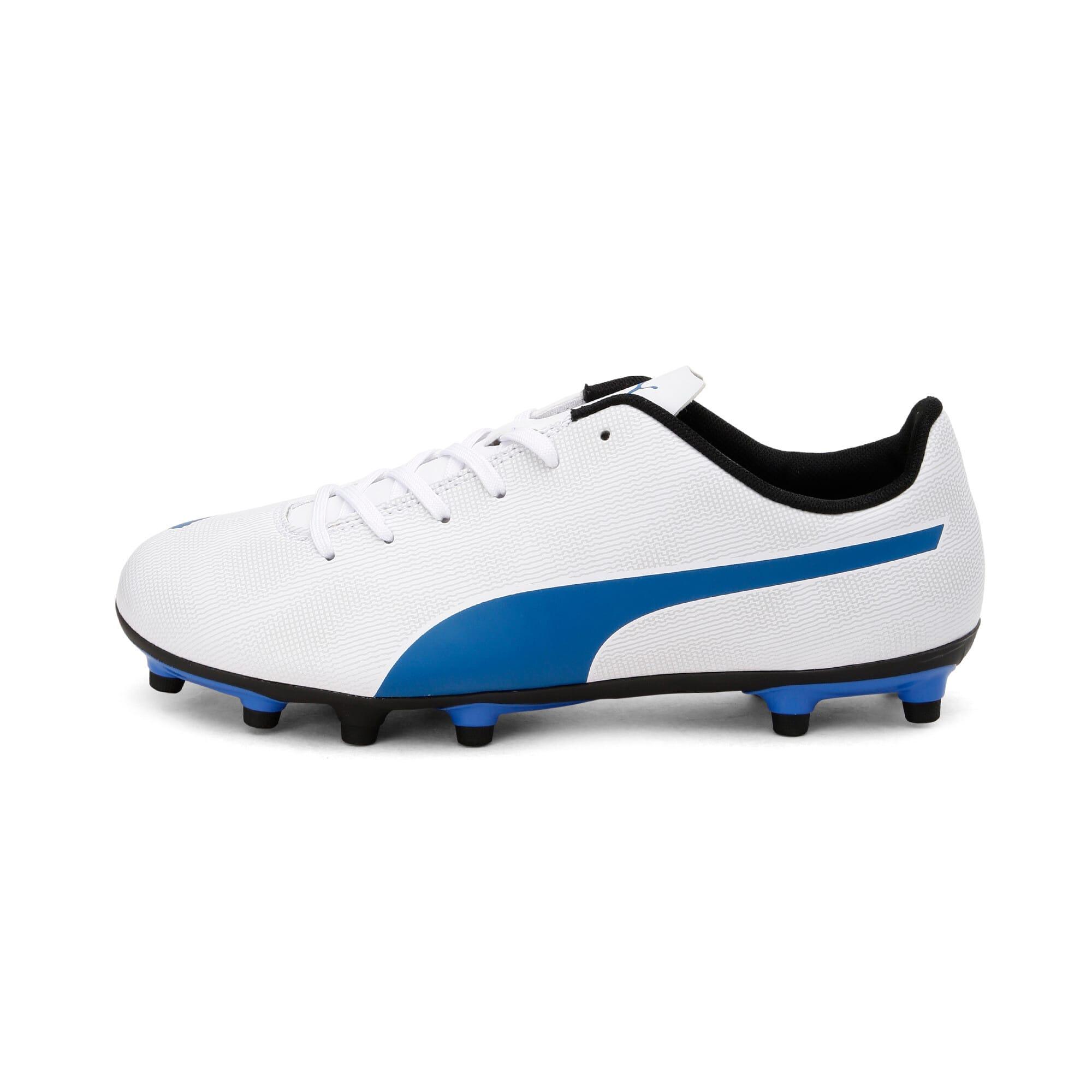 Thumbnail 1 of Rapido FG Youth Football Boots, White-Royal Blue-Light Gray, medium-IND