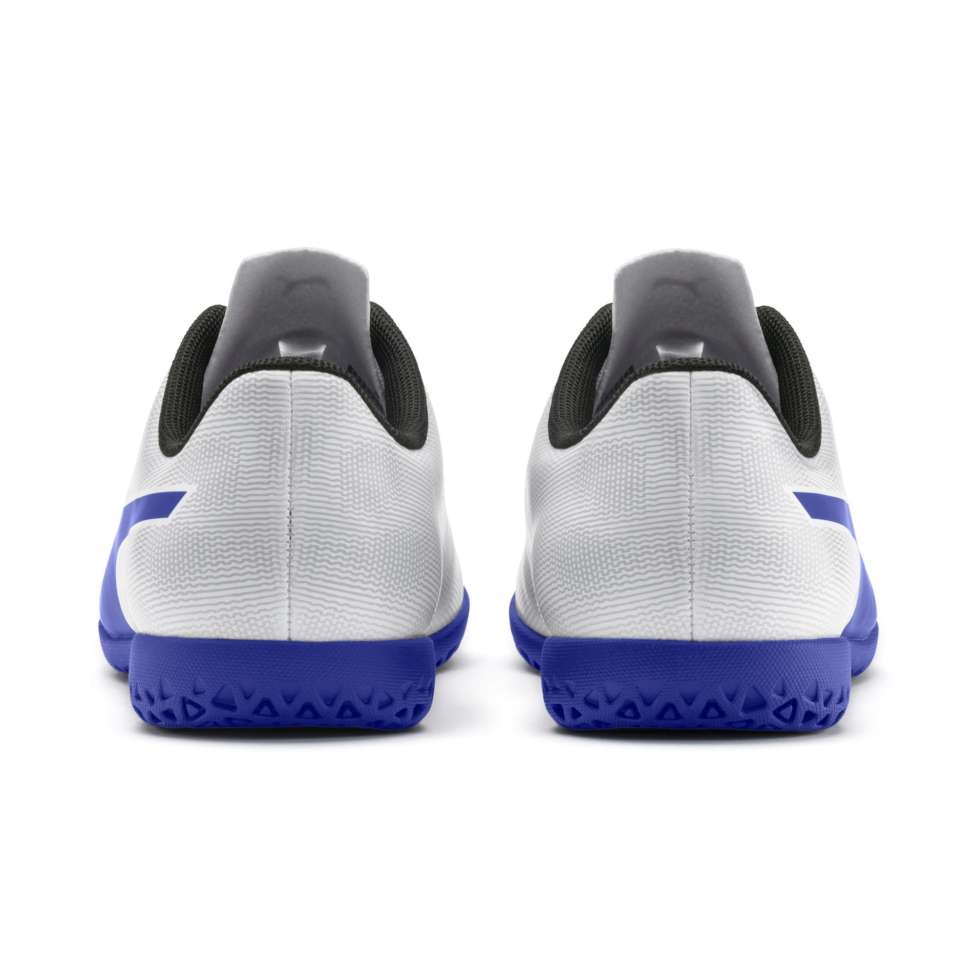 Thumbnail 3 of Rapido IT Boy's Soccer Shoes JR, White-Royal Blue-Light Gray, medium