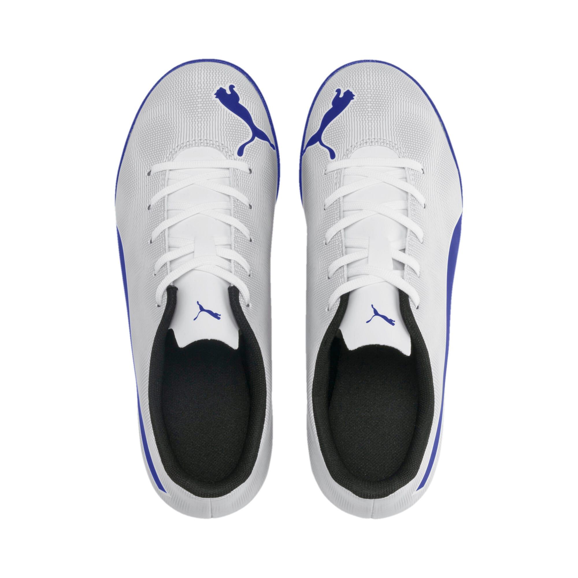 Thumbnail 6 of Rapido IT Boy's Soccer Shoes JR, White-Royal Blue-Light Gray, medium