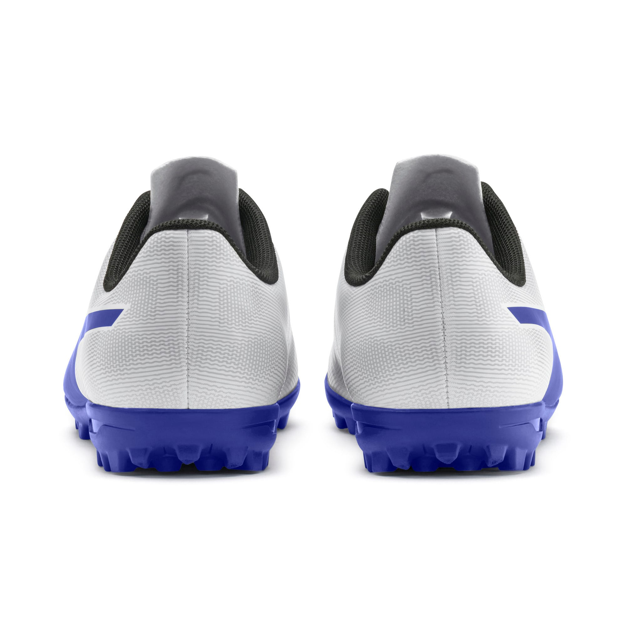 Thumbnail 3 of Rapido TT Boy's Soccer Cleats JR, White-Royal Blue-Light Gray, medium