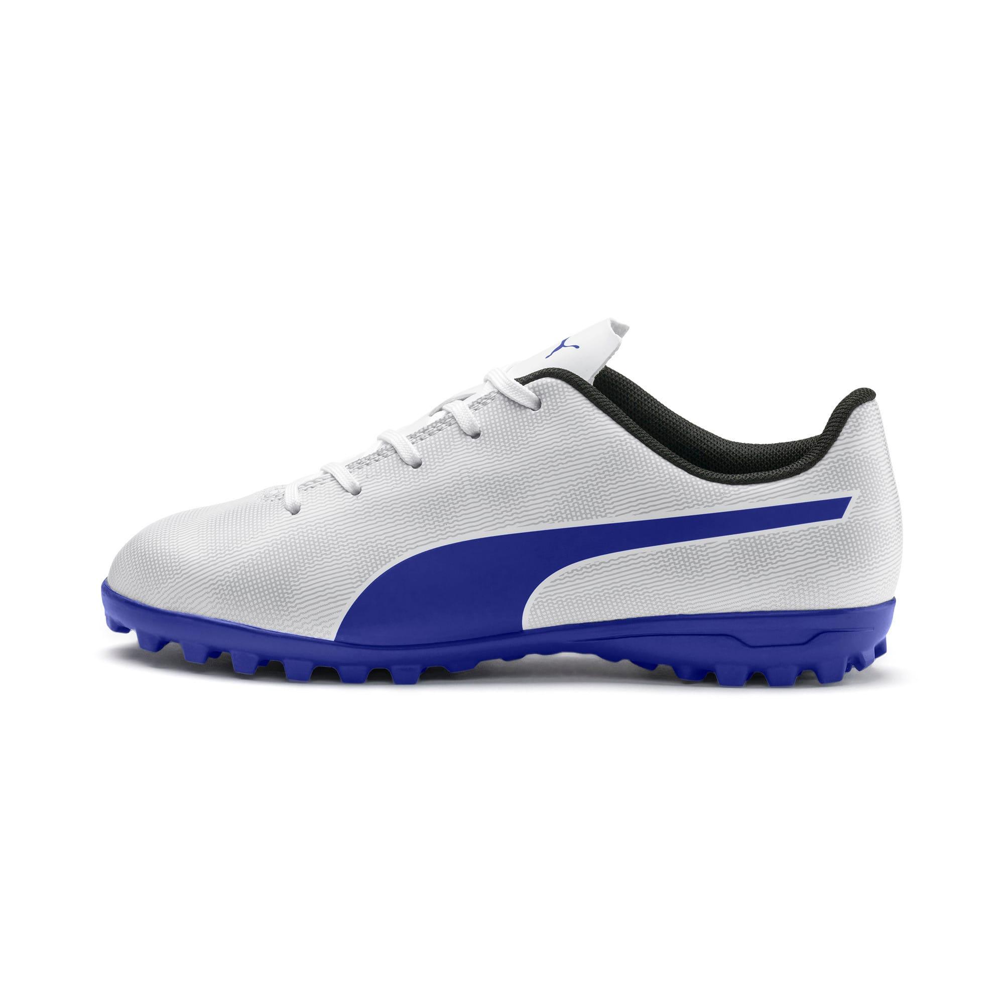 Thumbnail 1 of Rapido TT Boy's Soccer Cleats JR, White-Royal Blue-Light Gray, medium