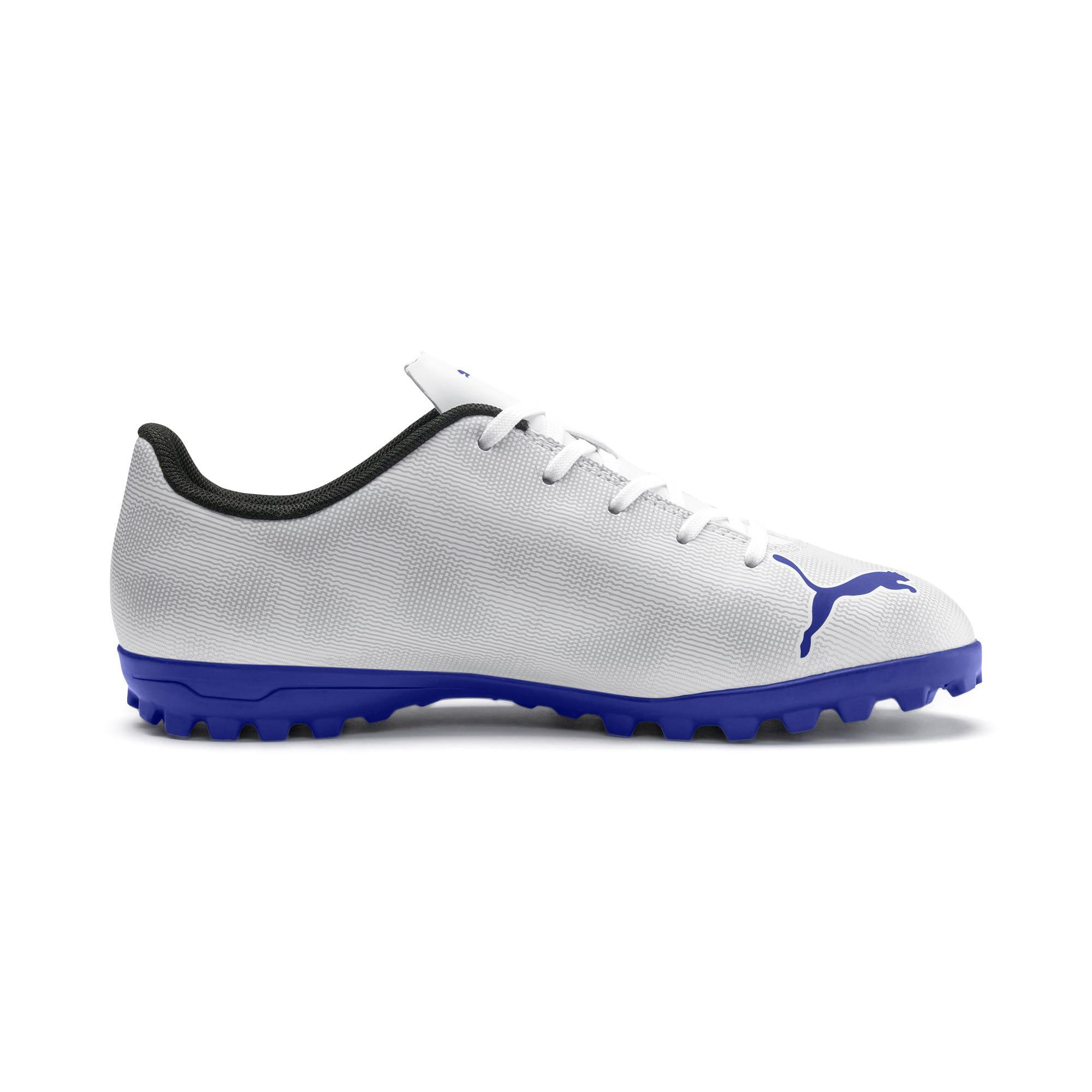 Thumbnail 5 of Rapido TT Boy's Soccer Cleats JR, White-Royal Blue-Light Gray, medium