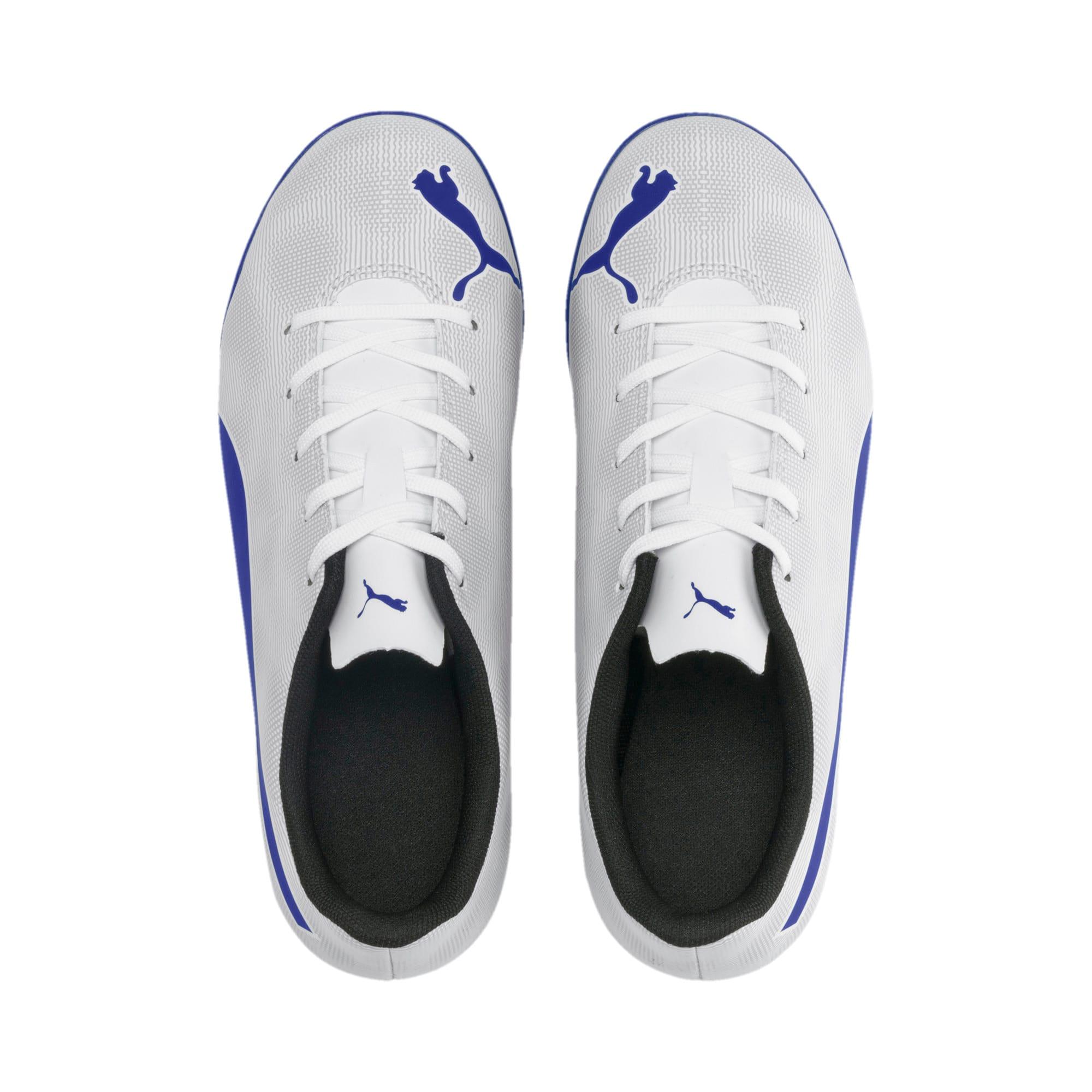 Thumbnail 6 of Rapido TT Boy's Soccer Cleats JR, White-Royal Blue-Light Gray, medium