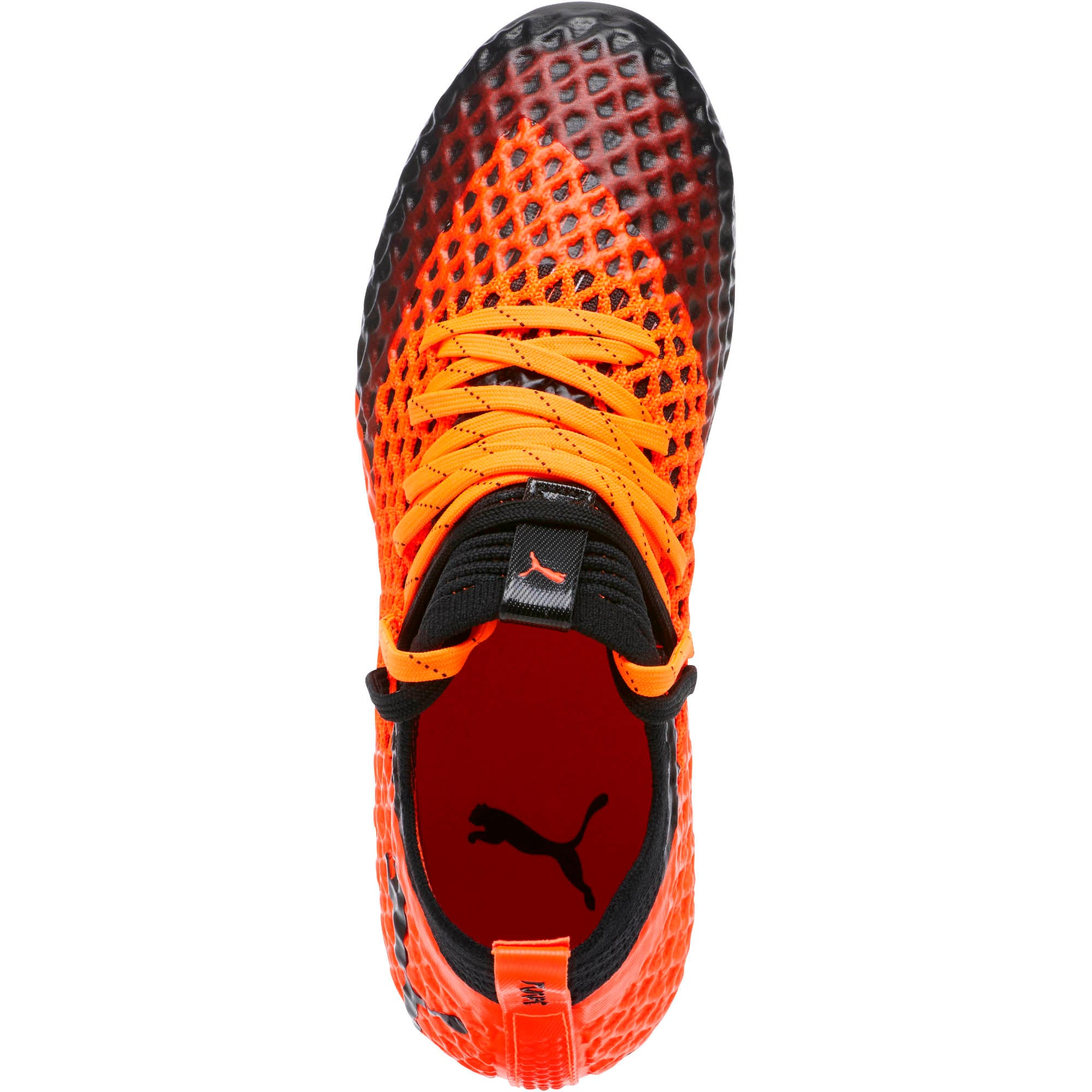 Thumbnail 5 of FUTURE 2.1 NETFIT FG/AG Soccer Cleats JR, Black-Orange, medium