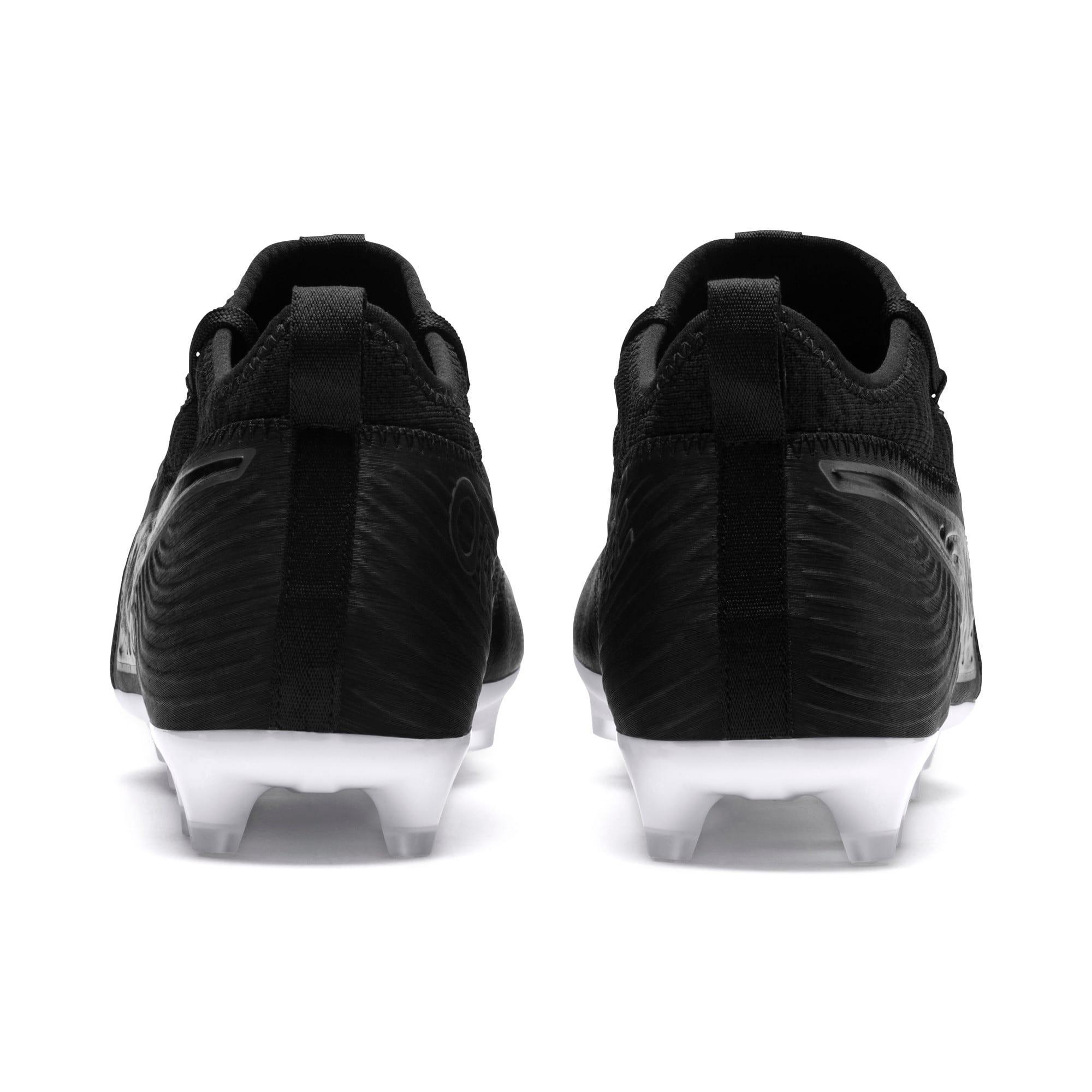 Thumbnail 3 of PUMA ONE 19.3 FG/AG Men's Soccer Cleats, Puma Black-Puma Black-White, medium