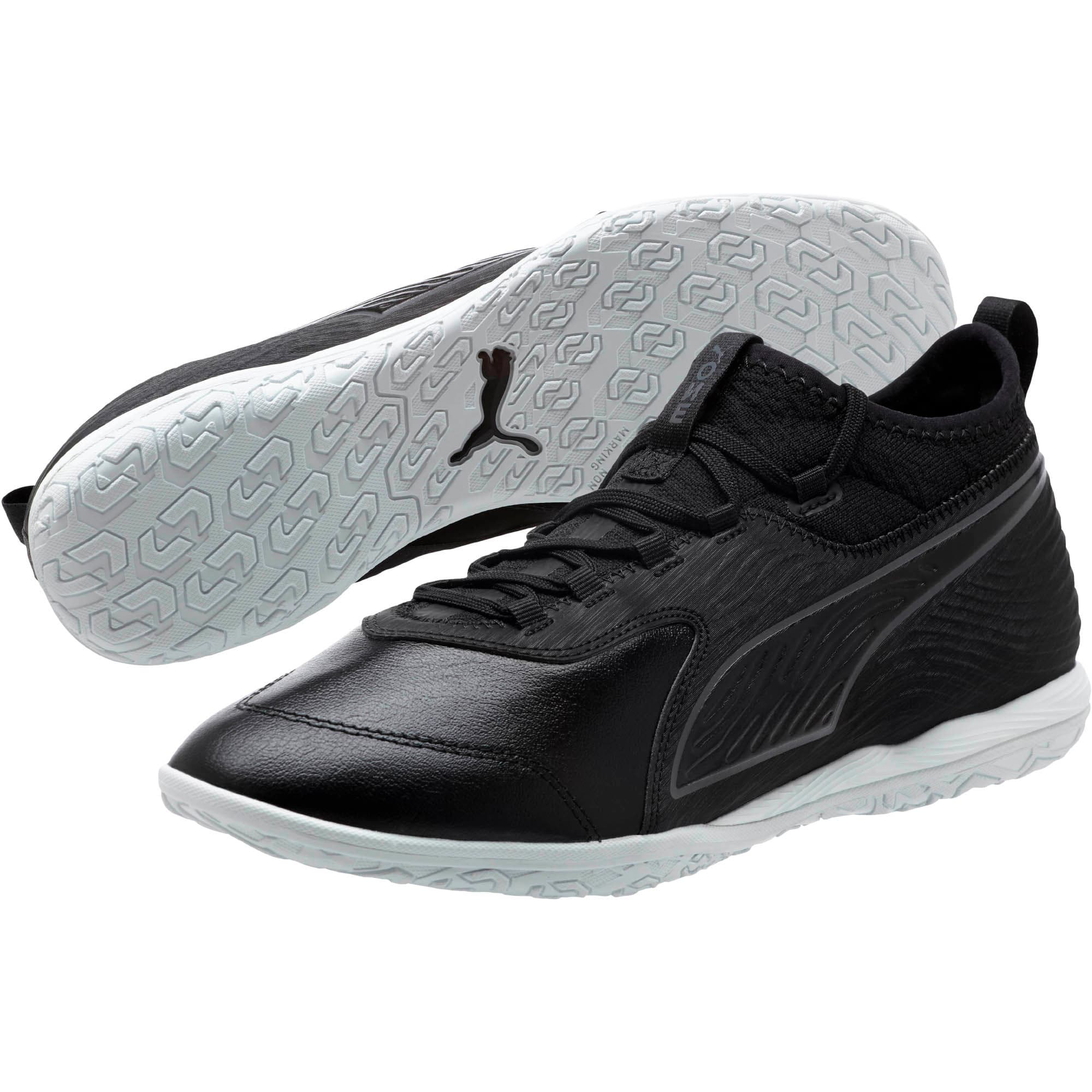 Thumbnail 2 of PUMA ONE 19.3 IT Men's Soccer Shoes, Puma Black-Puma Black-White, medium