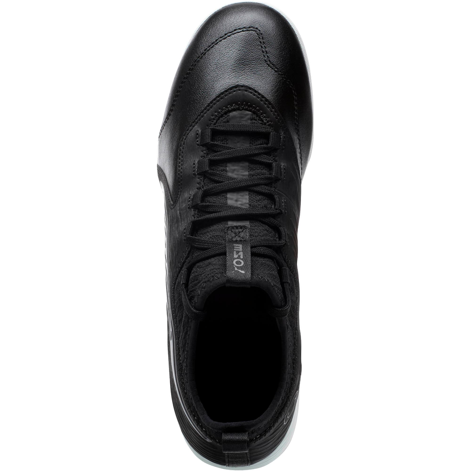 Thumbnail 5 of PUMA ONE 19.3 IT Men's Soccer Shoes, Puma Black-Puma Black-White, medium