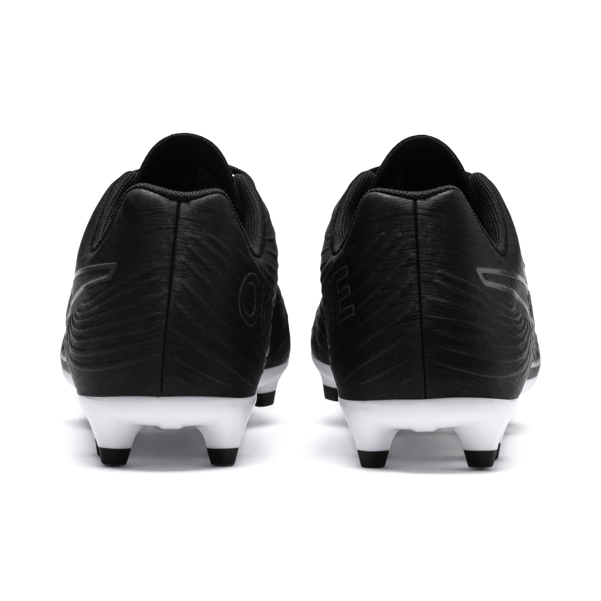 Thumbnail 3 of PUMA ONE 19.4 FG/AG Men's Soccer Cleats, Puma Black-Puma Black-White, medium