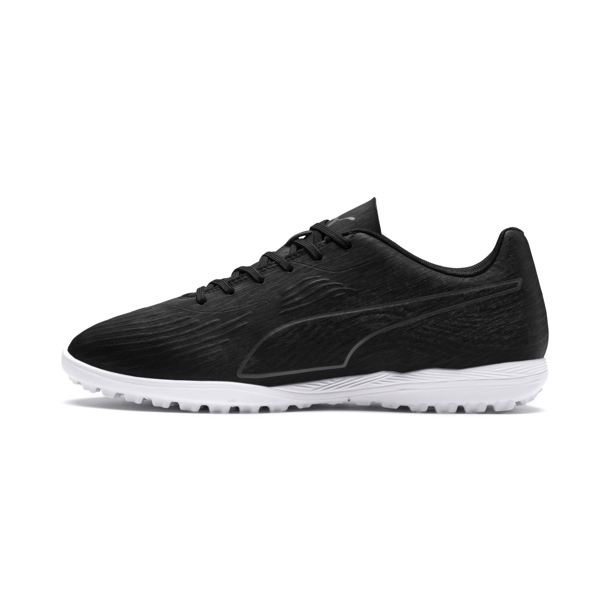 Thumbnail 1 of PUMA ONE 19.4 TT Men's Soccer Shoes, Puma Black-Puma Black-White, medium