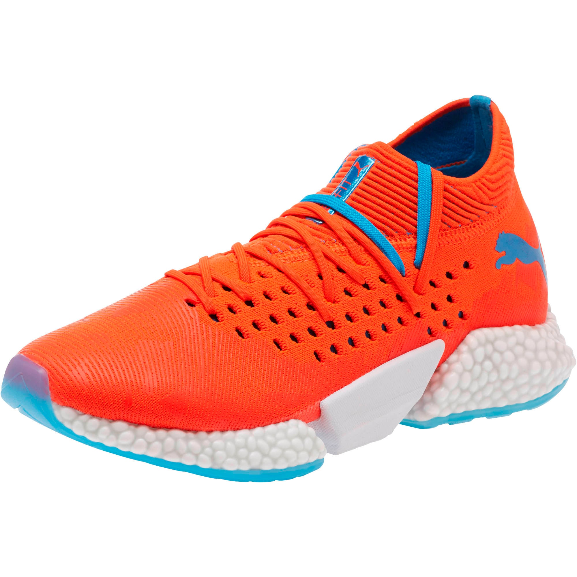 Thumbnail 1 of FUTURE Rocket Men's Running Shoes, Red Blast-Bleu Azur, medium