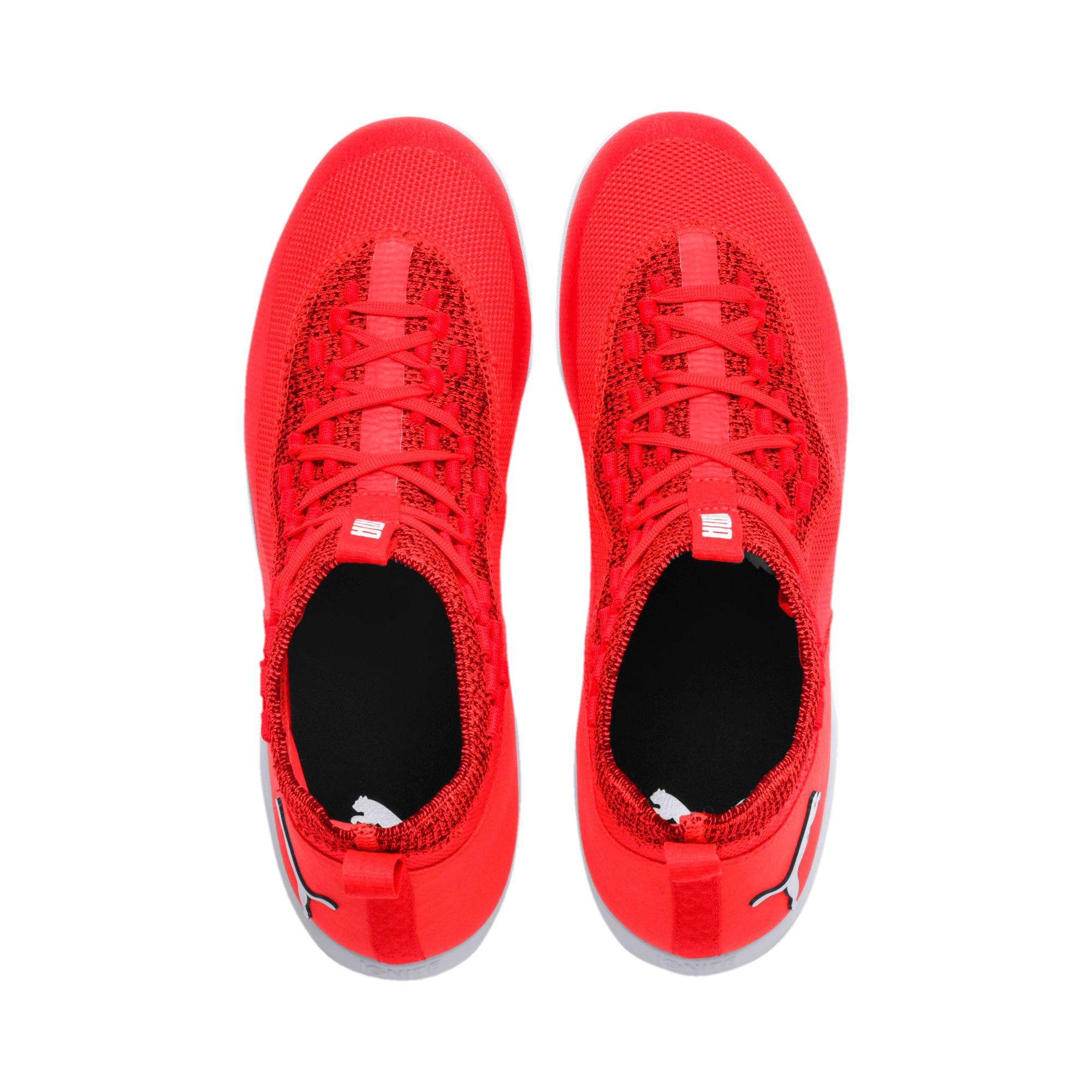 Thumbnail 6 of 365 IGNITE Fuse P 1 Men's Soccer Shoes, Red Blast-White-Puma Black, medium