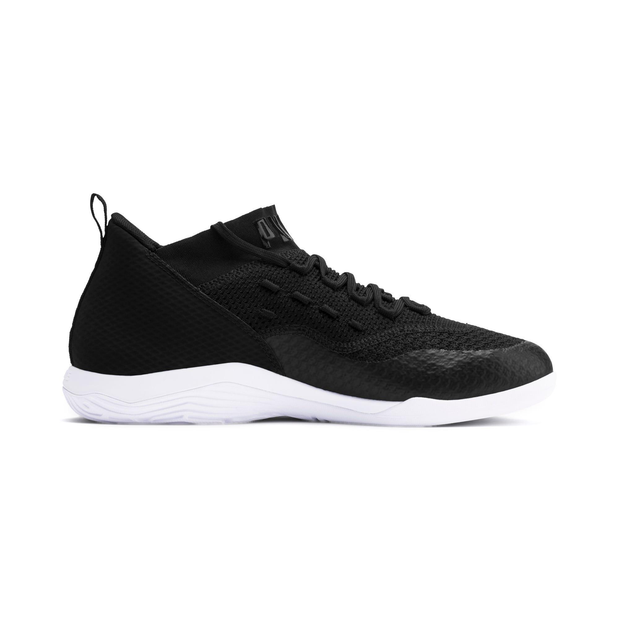 Thumbnail 5 of 365 IGNITE FUSE 2 Men's Soccer Shoes, Puma Black-Puma White, medium