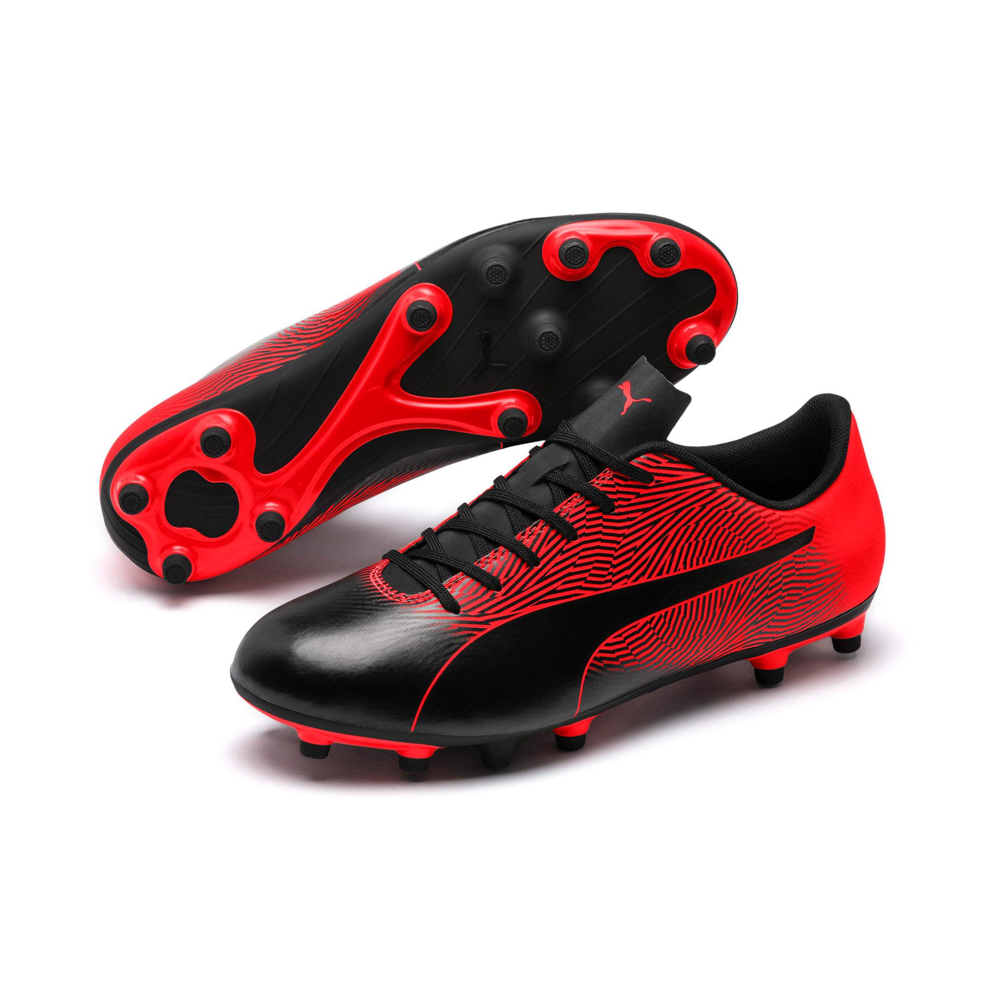 Miniatura 2 de Botines de fútbol PUMA Spirit II FG para hombre, Puma Black-Red Blast, mediano