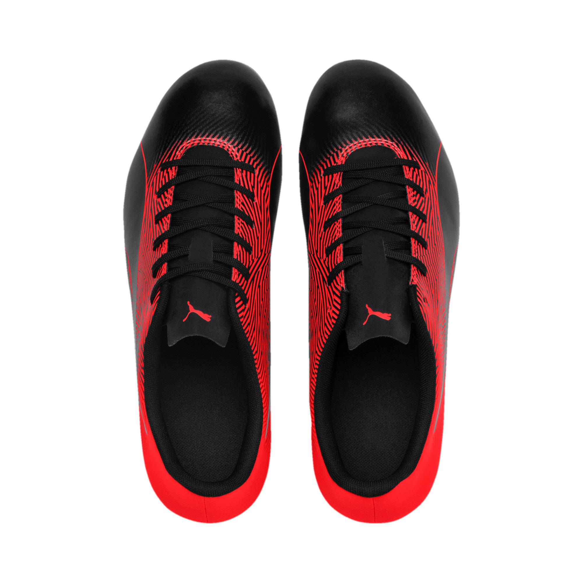 Thumbnail 6 of PUMA Spirit II FG Men's Soccer Cleats, Puma Black-Red Blast, medium