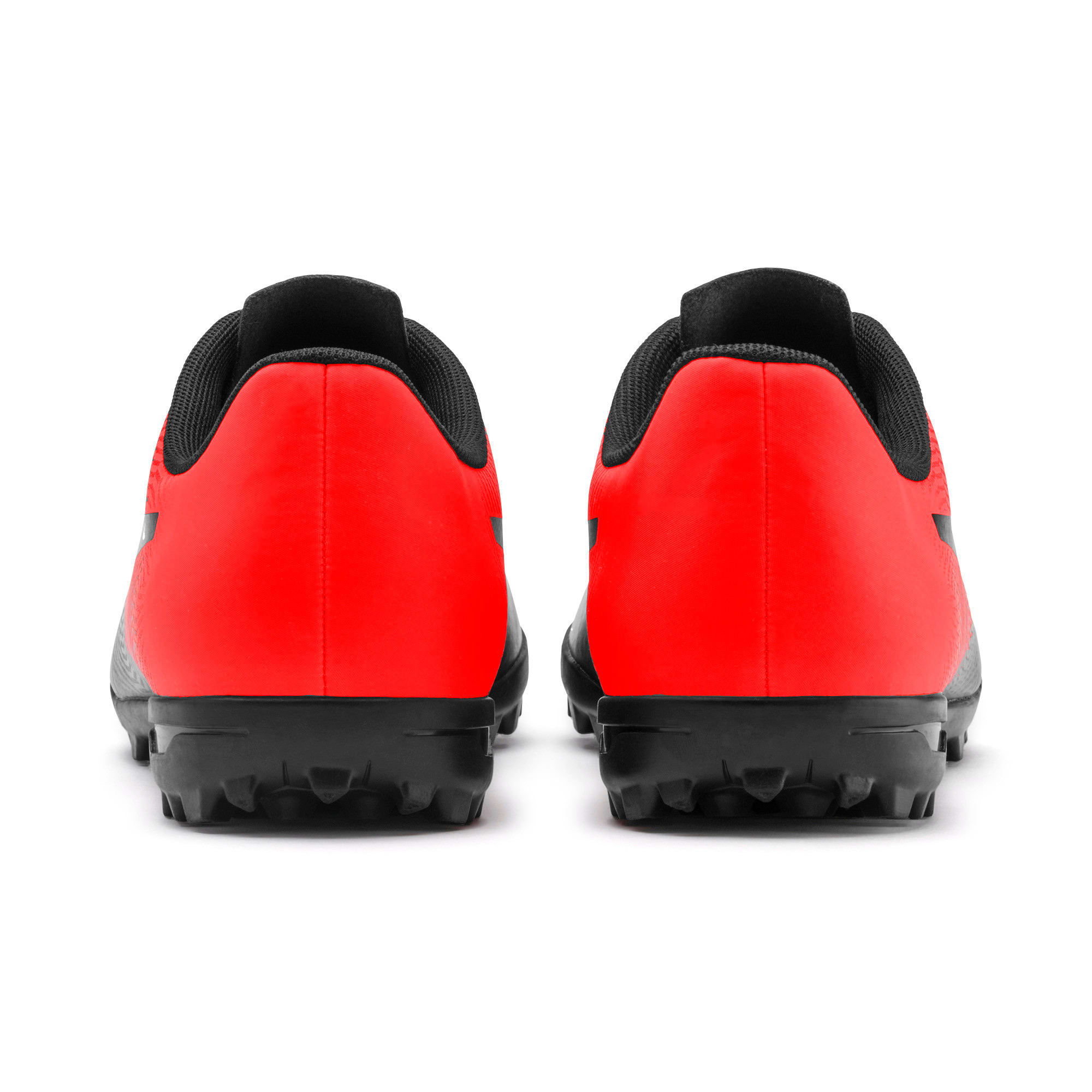 Thumbnail 4 of PUMA Spirit II TT Men's Soccer Shoes, Puma Black-Nrgy Red, medium