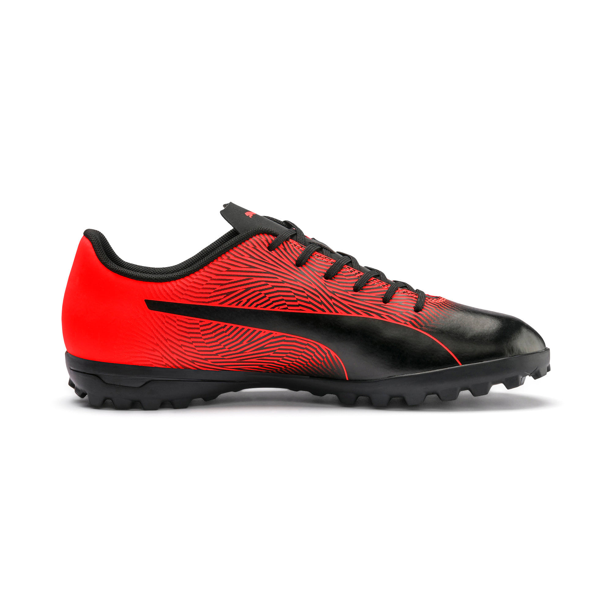 Thumbnail 6 of PUMA Spirit II TT Men's Soccer Shoes, Puma Black-Nrgy Red, medium
