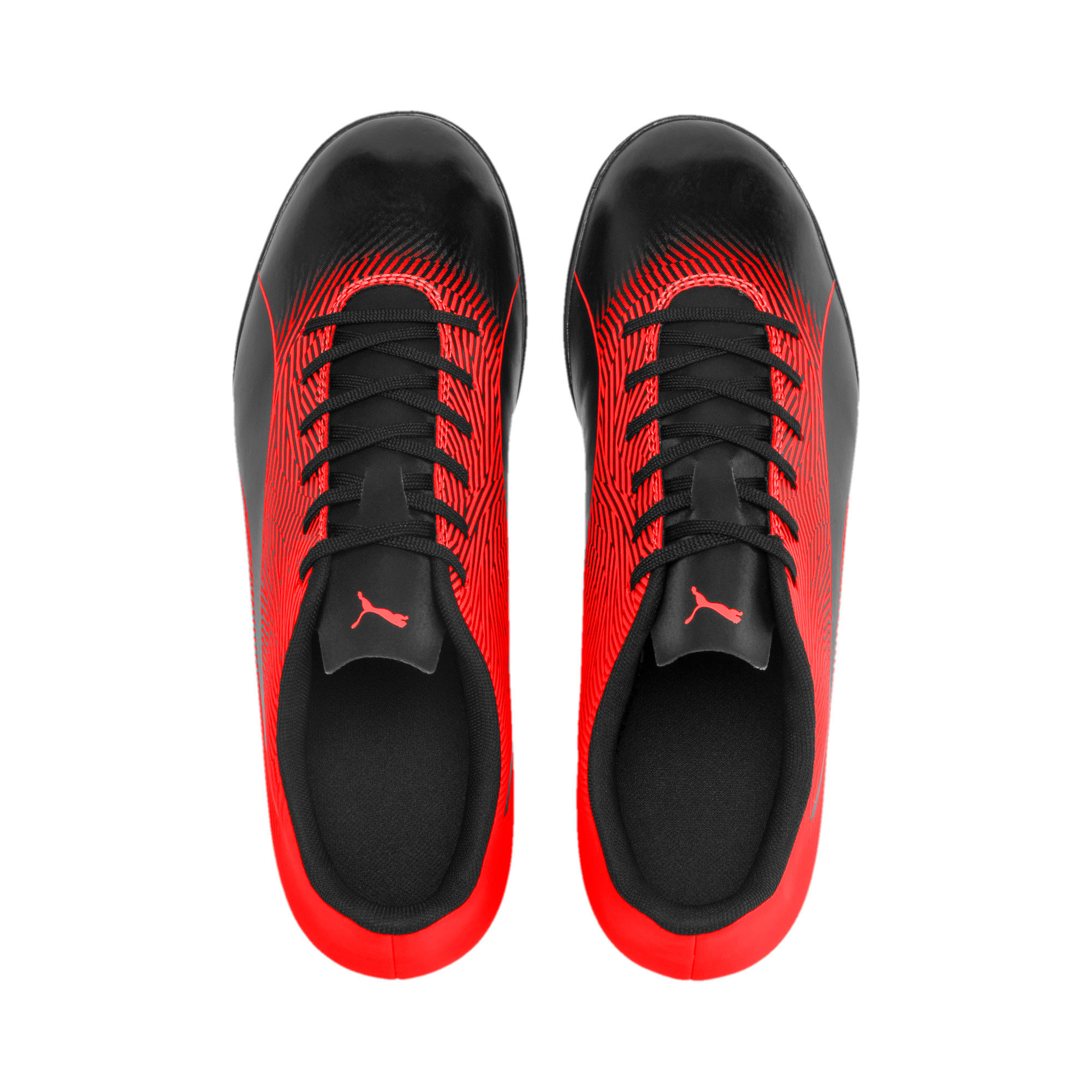 Thumbnail 7 of PUMA Spirit II TT Men's Soccer Shoes, Puma Black-Nrgy Red, medium